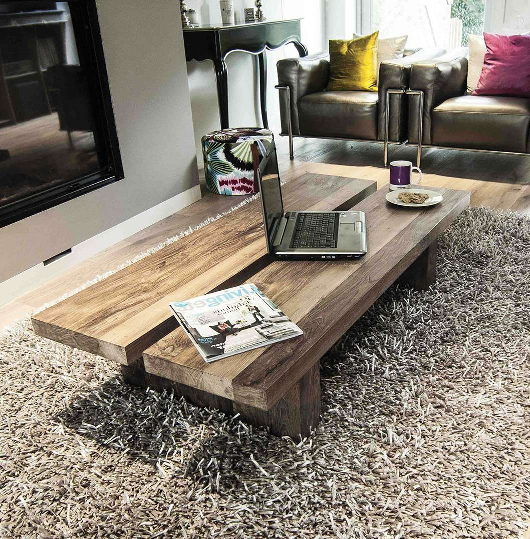 2017 Reclaimed Wood Coffee Tables Throughout Reclaimed Wood Coffee Table. The Rinjani (View 7 of 20)
