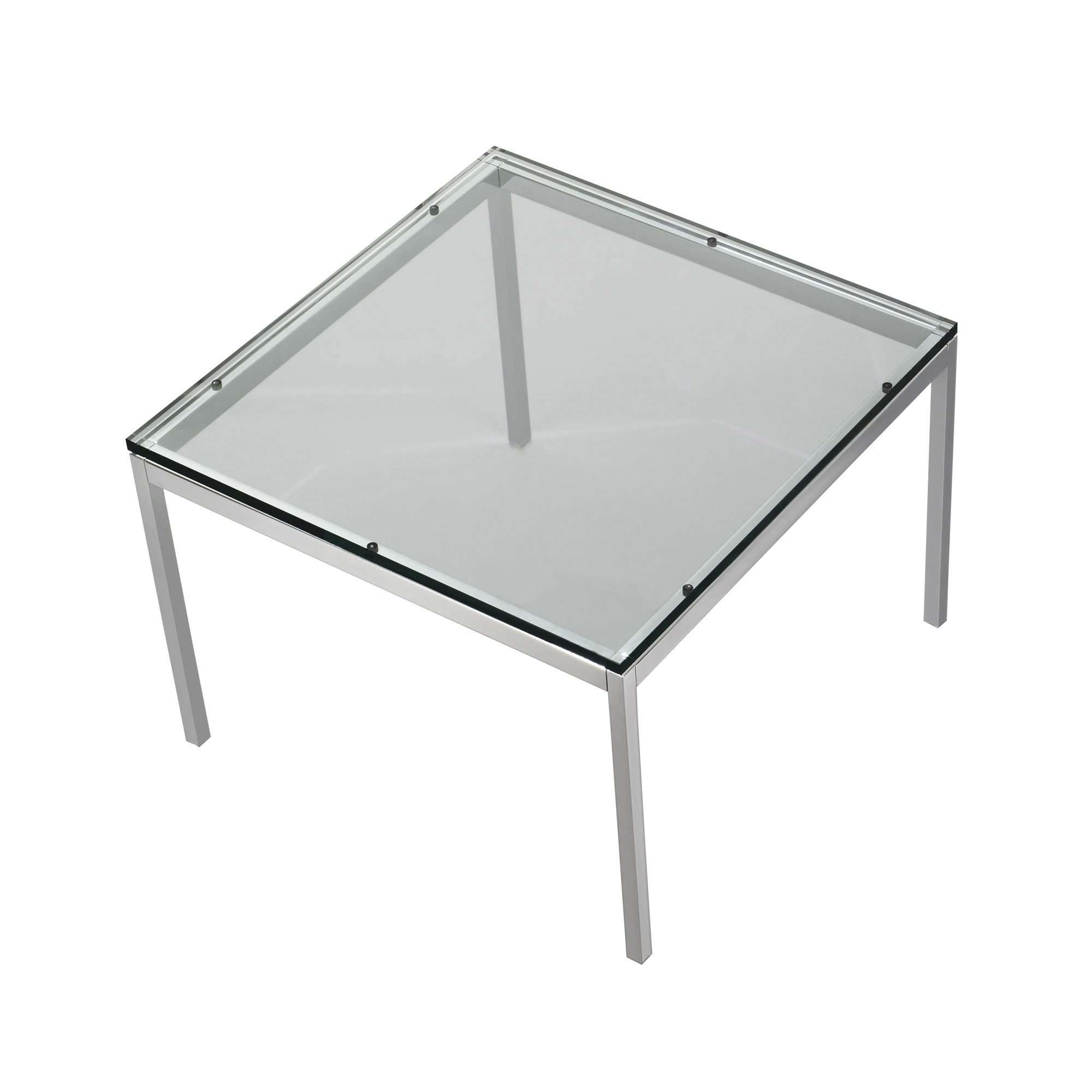 2017 Rectangle Glass Chrome Coffee Tables Within Coffee Table : Marvelous Dark Brown Coffee Table Glass And Chrome (View 1 of 20)