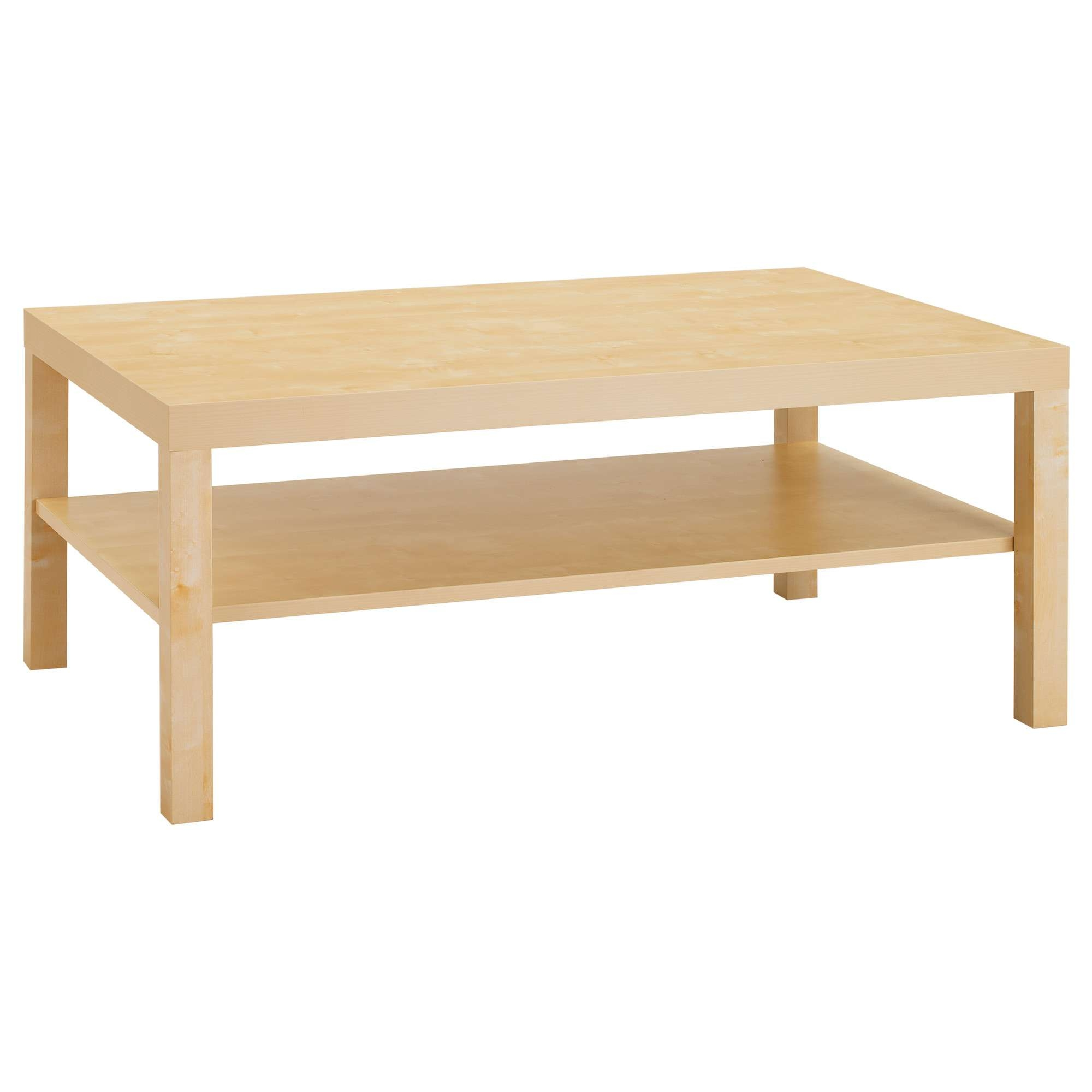 2017 Small Wood Coffee Tables For Lack Coffee Table – White – Ikea (View 1 of 20)