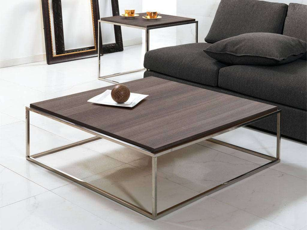 2017 Square Coffee Tables Pertaining To Square Coffee Tables Contemporary : Beblincanto Tables – Square (View 1 of 20)