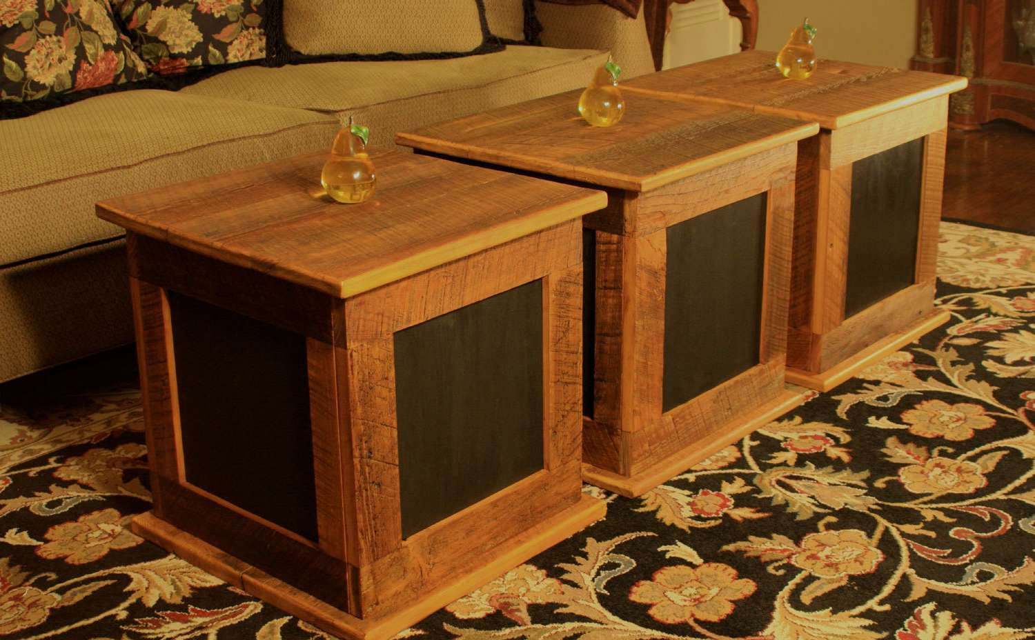 2017 Square Coffee Tables With Storage Cubes Regarding Storage Cube Coffee Table. Bunching Table (View 7 of 20)