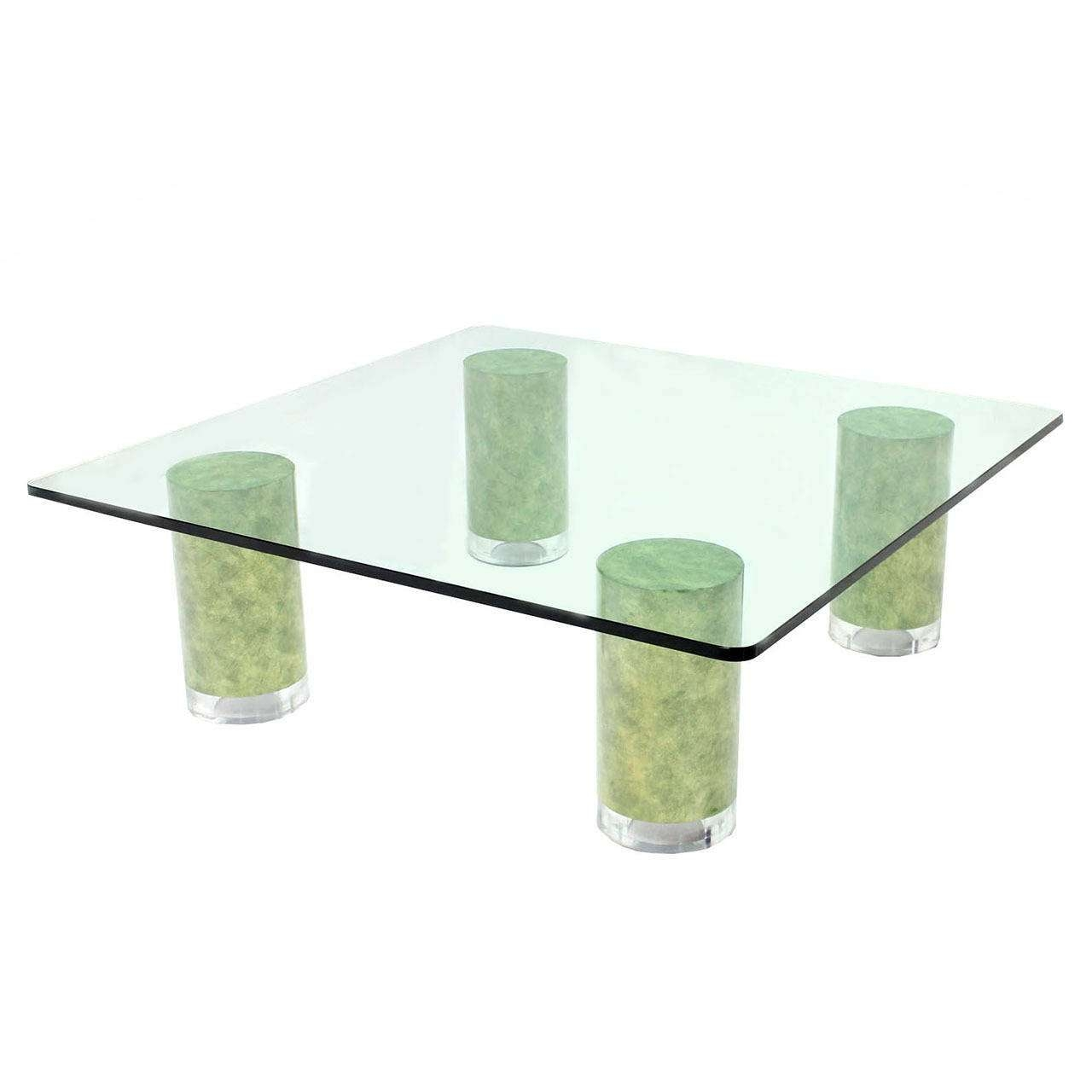 2017 Thick Glass Coffee Table Inside Square Glass Coffee Table – Writehookstudio (View 1 of 20)