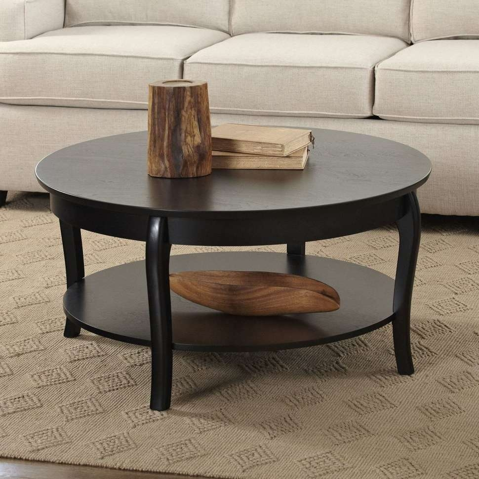 2017 Wayfair Glass Coffee Tables Intended For Coffee Tables : Birch Lane Alberts Round Coffee Table Bl Beautiful (View 7 of 20)