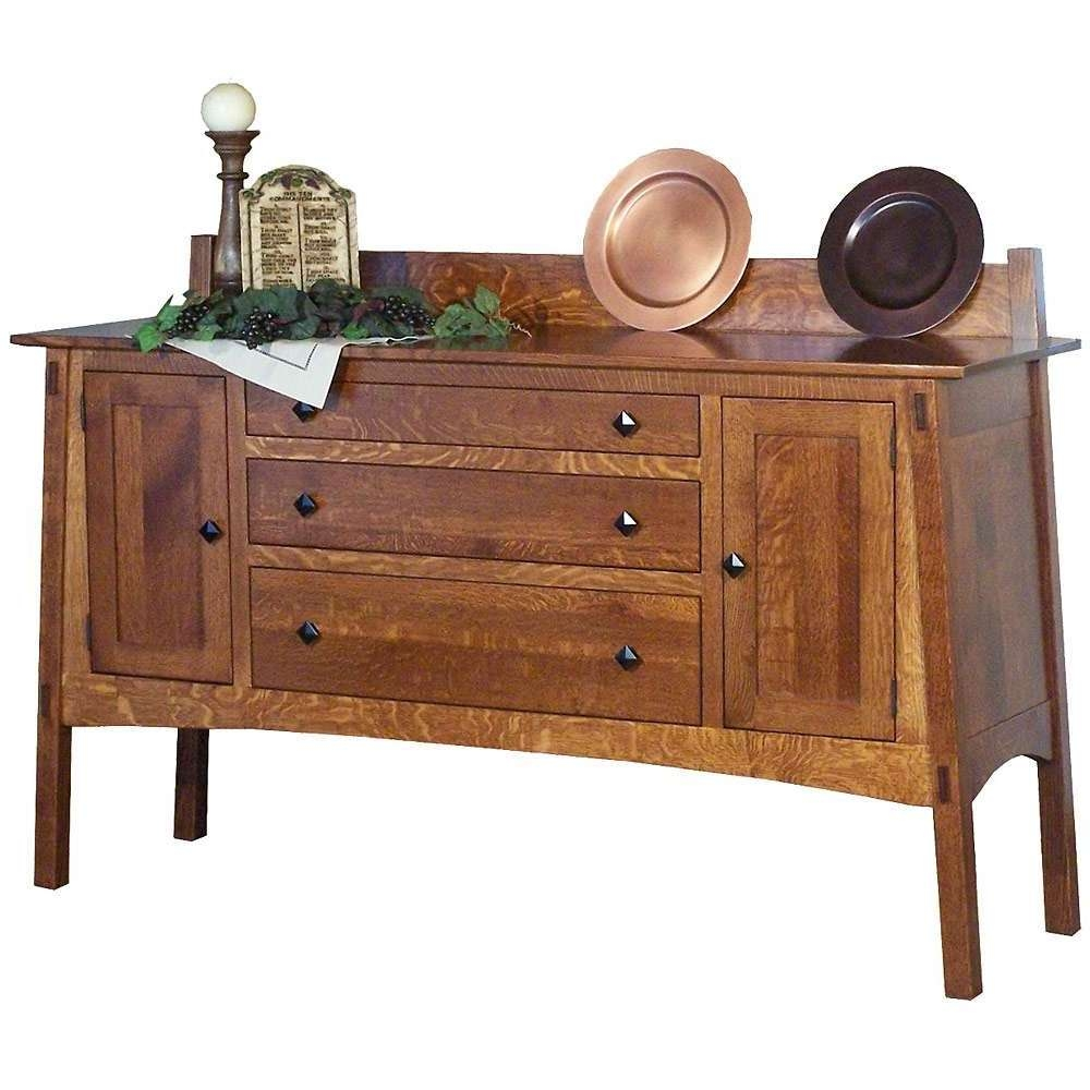 2018 Best Of Mission Style Sideboards Throughout Mission Sideboards (View 15 of 20)