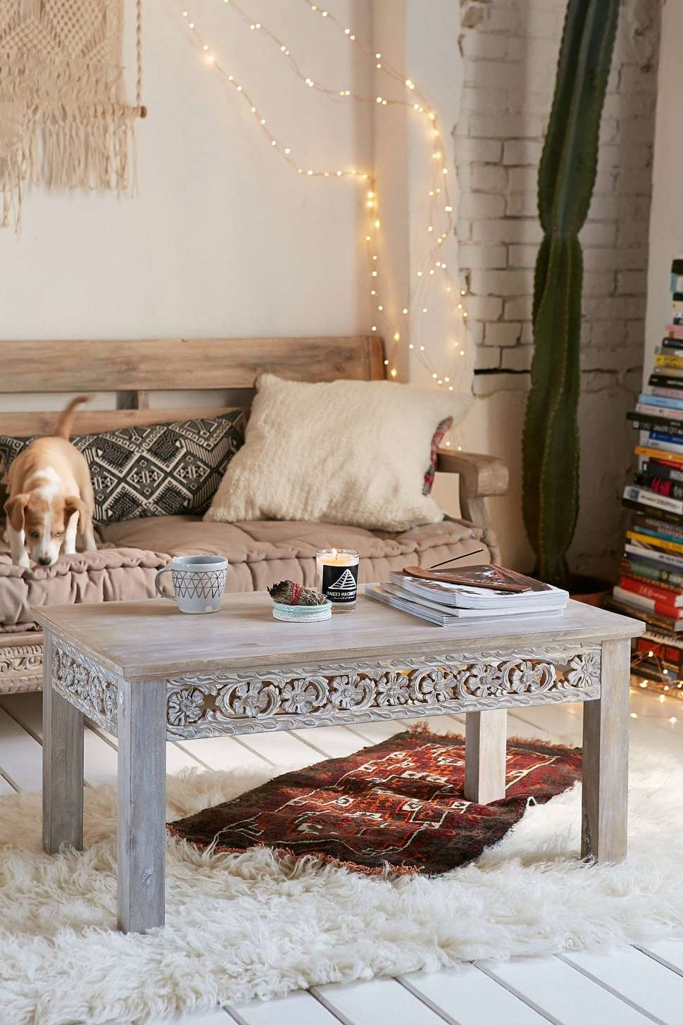 2018 Boho Coffee Tables In Coffee Table : Superlative Boho Coffee Table Picture Concept Photo (View 2 of 20)