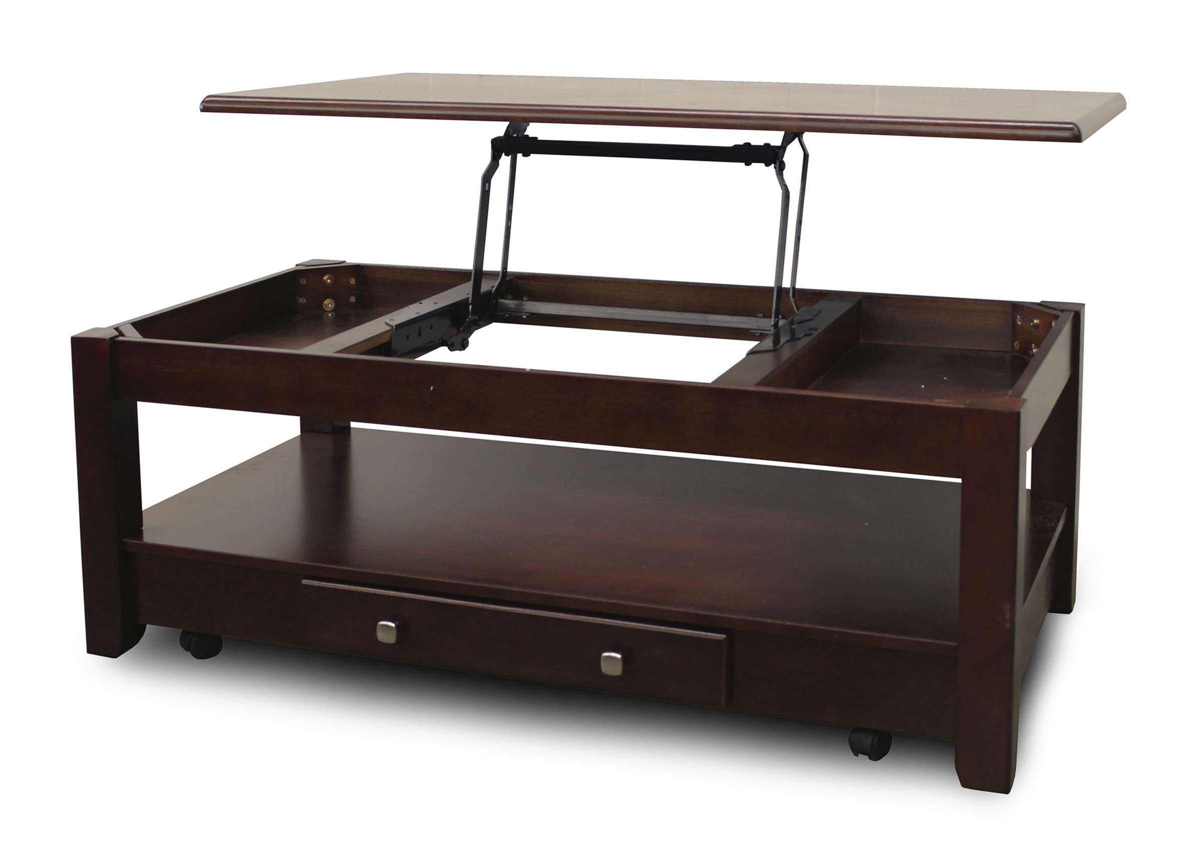 2018 Cheap Lift Top Coffee Tables Regarding Coffee Tables : Fold Out Coffee Table With Lift Top That Raises Up (View 9 of 20)