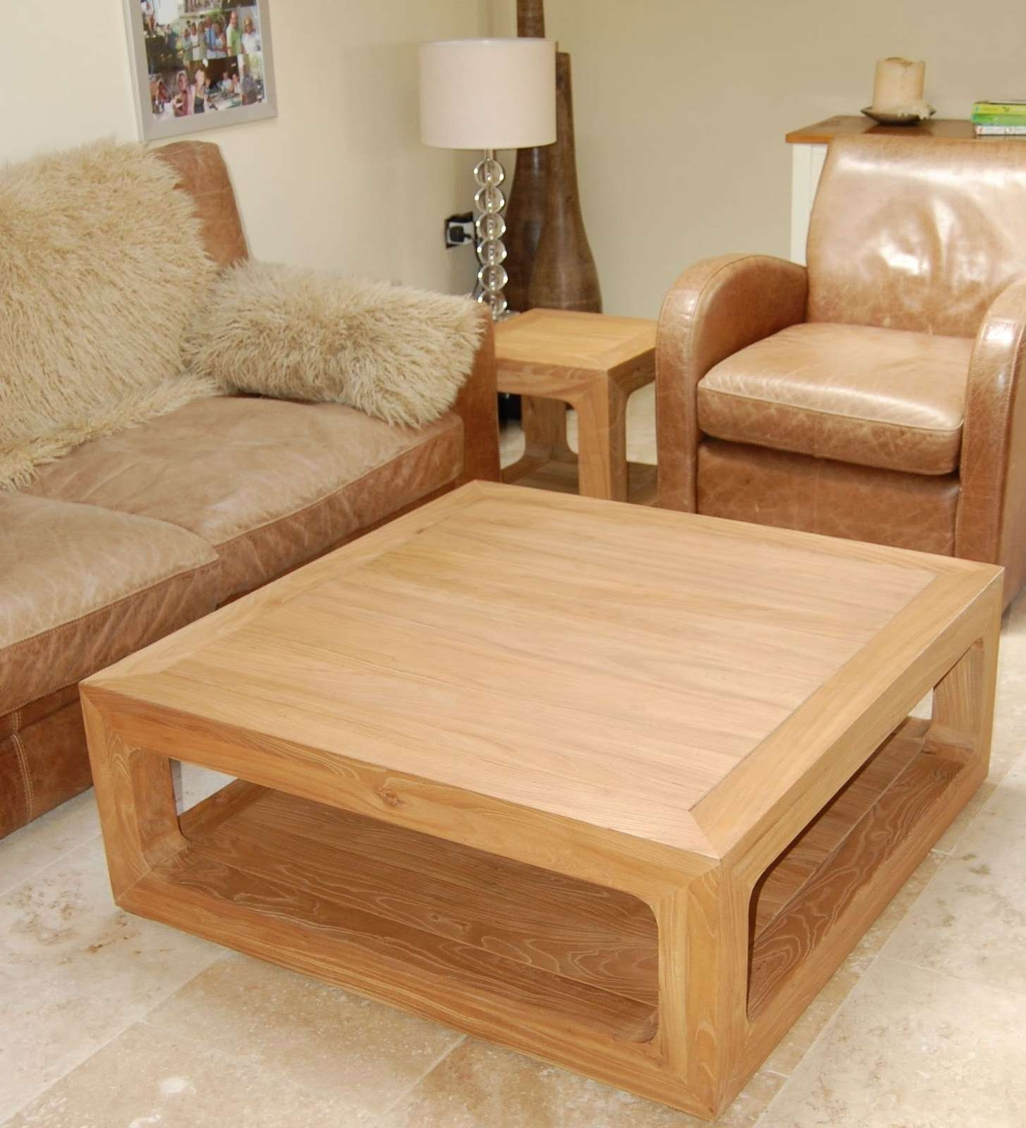 2018 Coffee Table Rounded Corners Throughout Square Coffee Table Rounded Corners • Table Ideas (View 3 of 20)