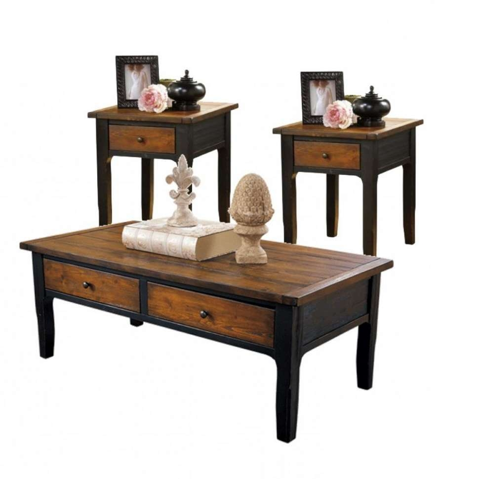 2018 Coffee Table With Matching End Tables Intended For Coffee Table : Coffee Table And End Tables Sets Cheap For Walmart (View 16 of 20)