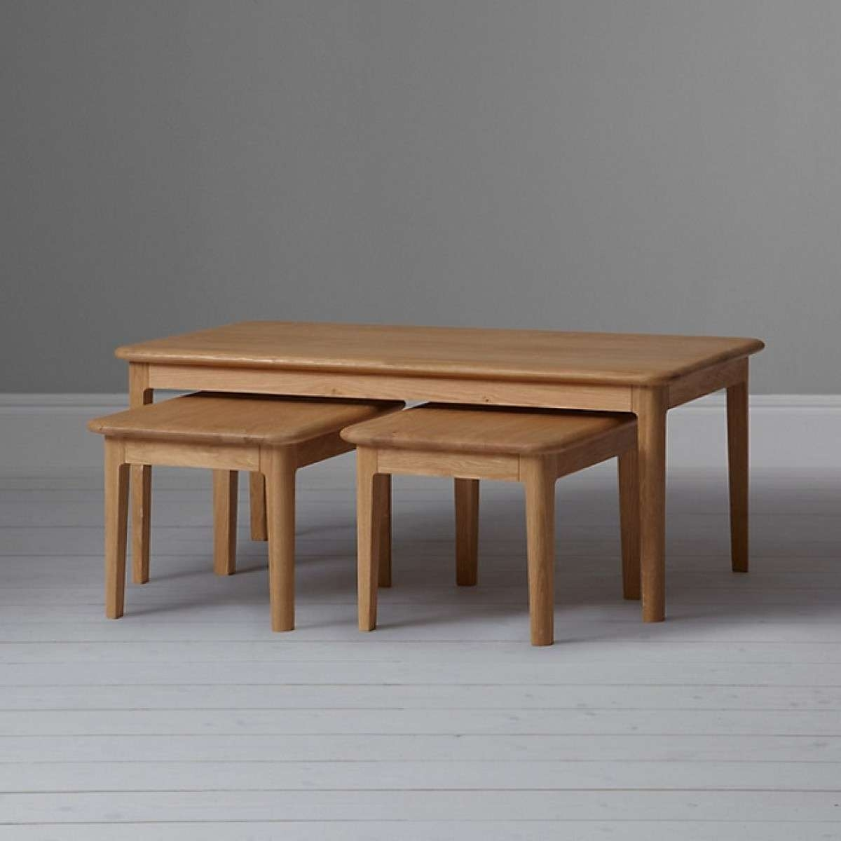 2018 Coffee Tables With Nesting Stools With Regard To Nested Coffee Table / Coffee Tables / Thippo (View 14 of 20)