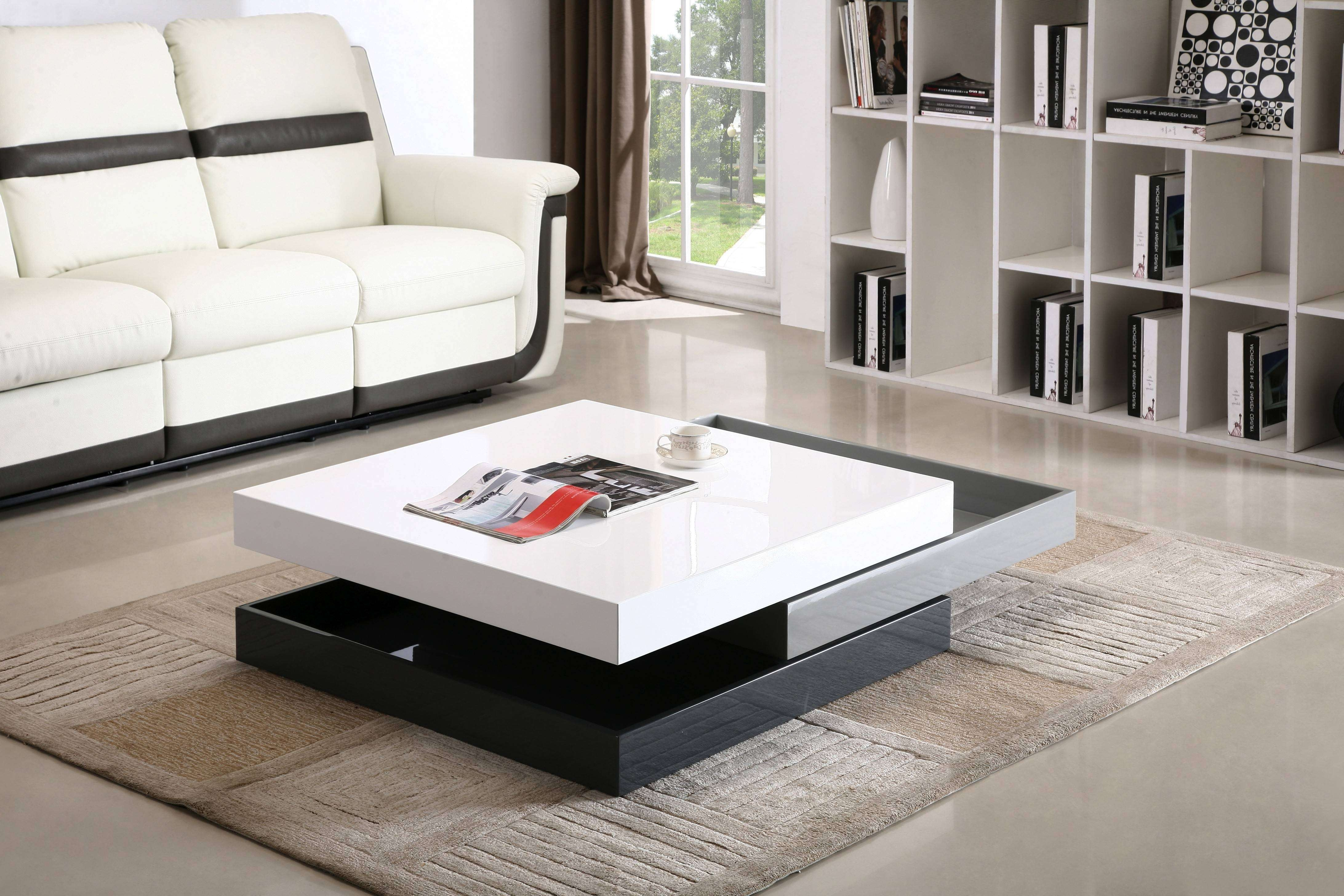 2018 Contemporary Coffee Tables Intended For Contemporary Coffee Tables In Espresso Wood Tags : 95 Exceptional (View 11 of 20)
