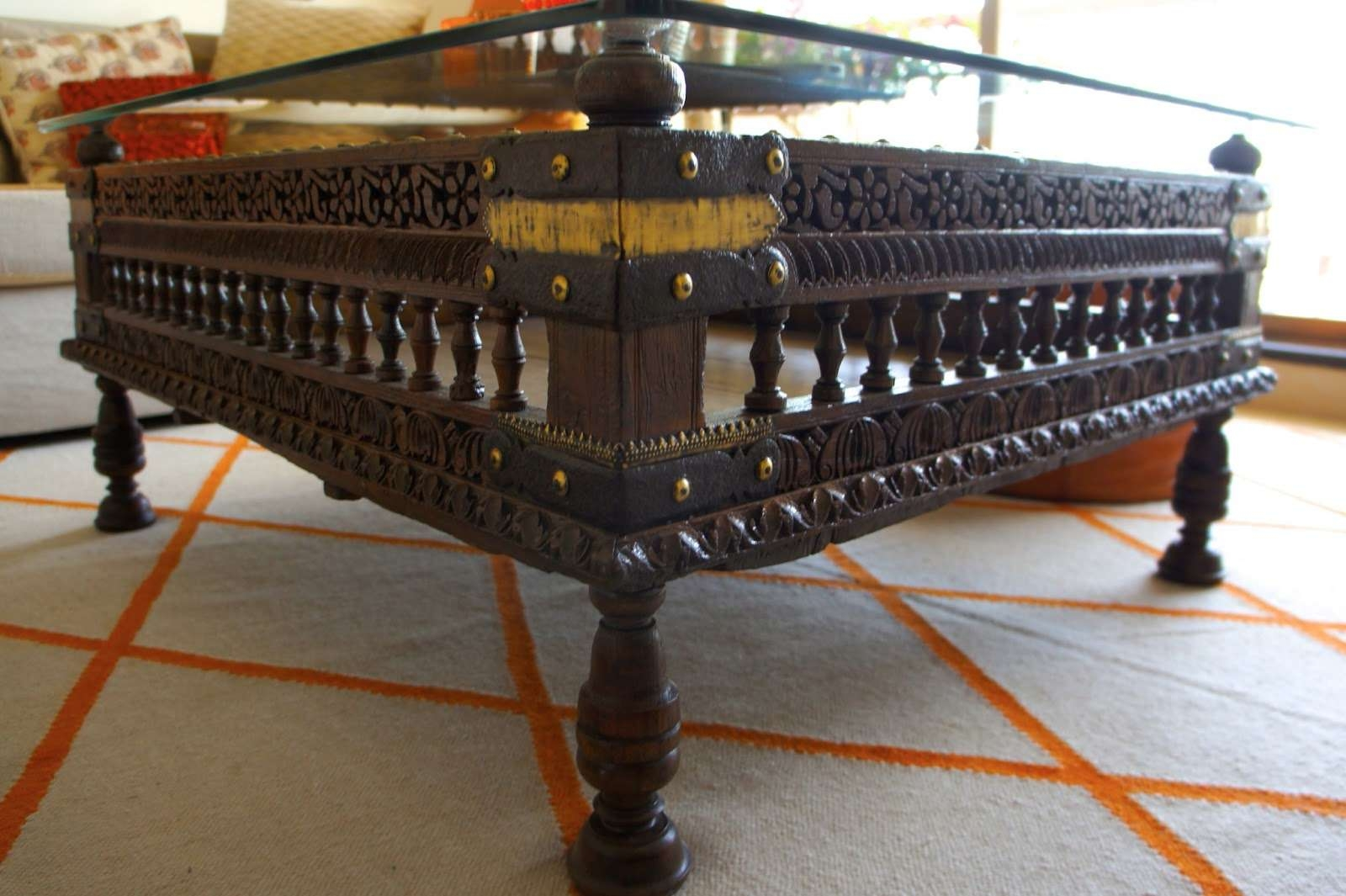 2018 Ethnic Coffee Tables Throughout Bombayjules: An End To The Coffee Table Saga! (View 1 of 20)