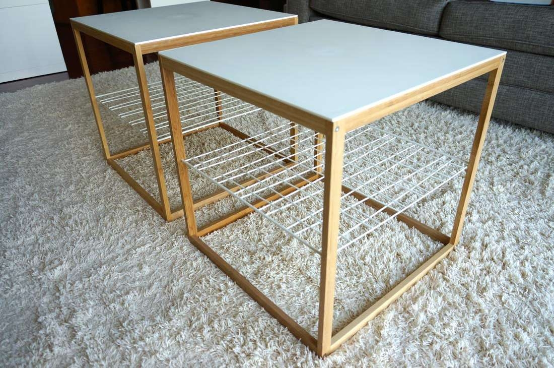 2018 Gold Bamboo Coffee Tables Inside Coffee Tables : Brass Faux Bamboo Square Coffee Table Omero Home (View 14 of 20)