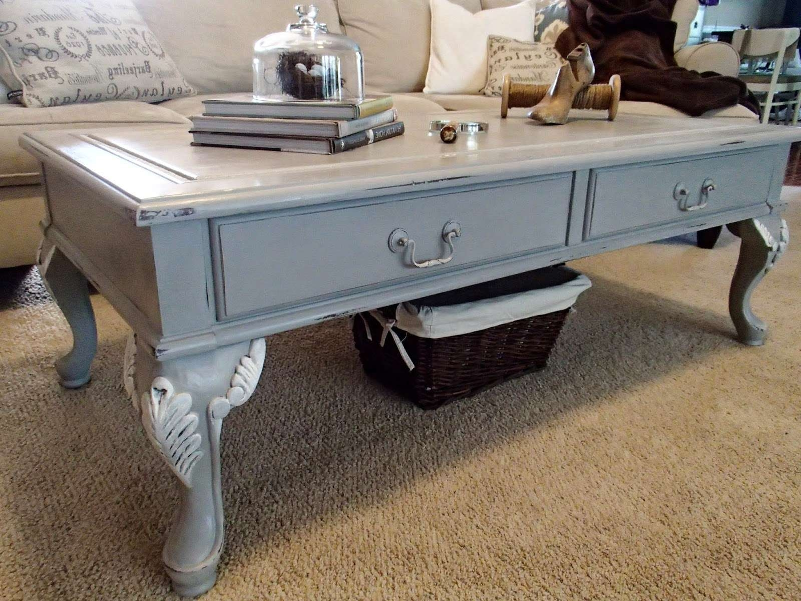 2018 Grey Coffee Tables Inside New Again: Paris Grey Coffee Table (View 8 of 20)