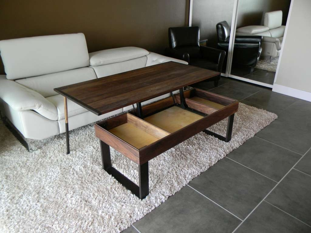 2018 Lift Up Coffee Tables Inside Lift Up Coffee Table Unique Coffee Table 1000 Ideas About Lift Top (View 7 of 20)