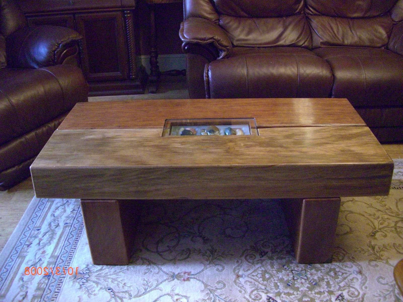 2018 Oak Sleeper Coffee Tables Within Oak Solid Butcher Block Coffee Table Tables For Sale Tabledsc (View 3 of 20)