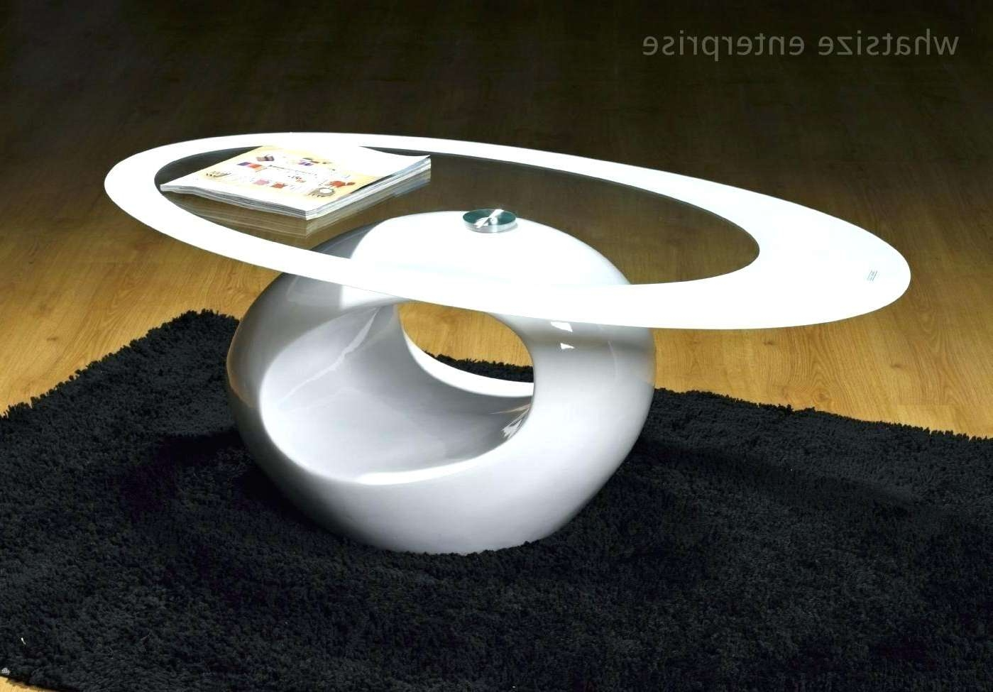 2018 Oval Gloss Coffee Tables With Coffee Table: Oval Gloss Coffee Table (View 1 of 20)