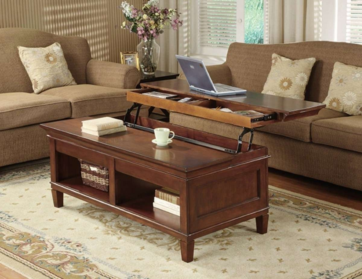 2018 Raise Up Coffee Tables Pertaining To Coffee Tables That Raise Up (View 2 of 20)