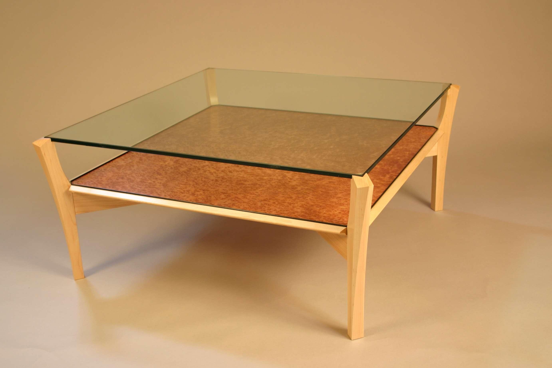 2018 Retro Glass Top Coffee Tables Inside Espresso Coffee Table With Glass Top – Glass Coffee Table (View 1 of 20)