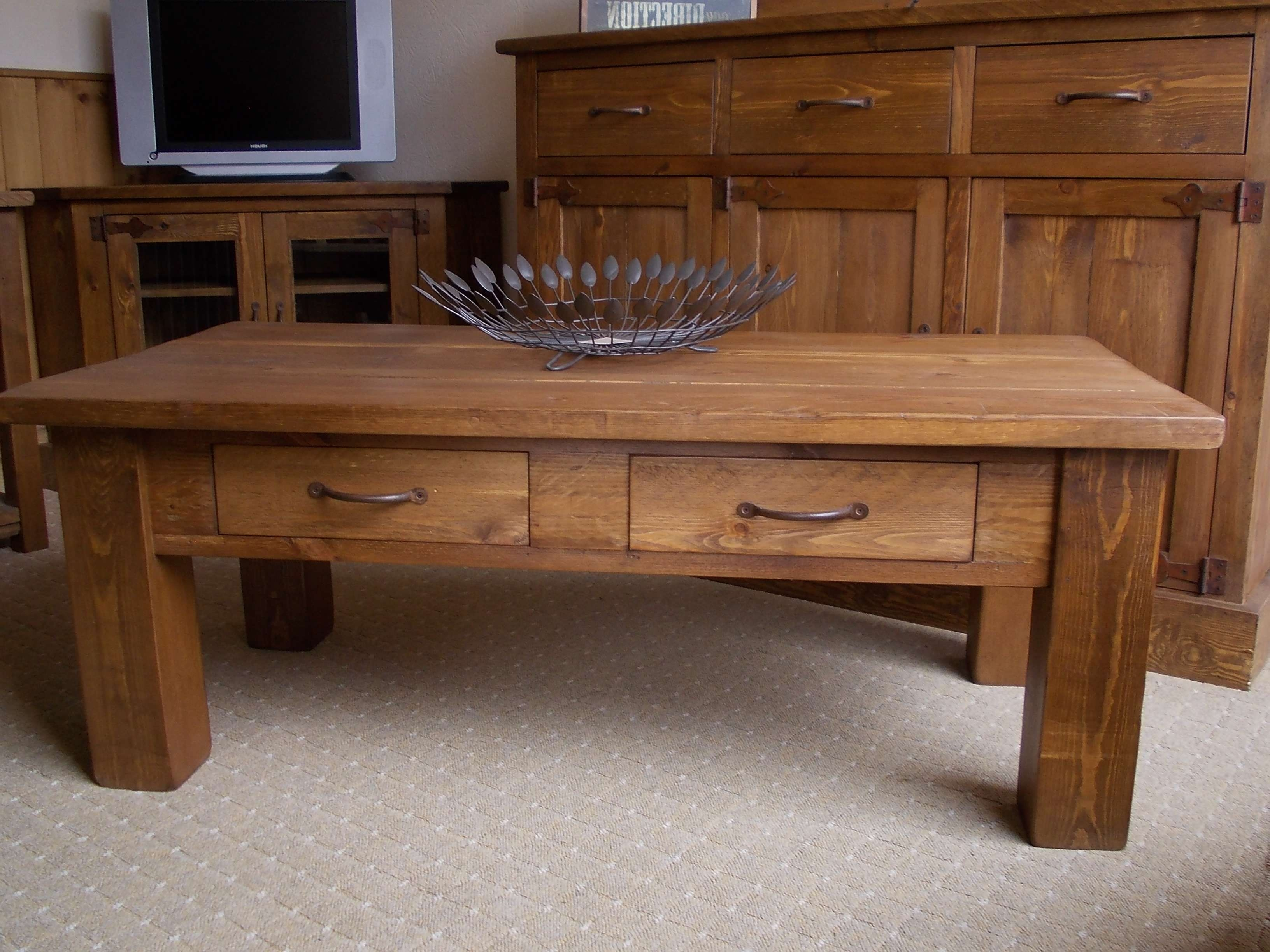2018 Rustic Oak Coffee Table With Drawers For Coffee Table : Marvelous Small Coffee Tables Oval Coffee Table (View 1 of 20)