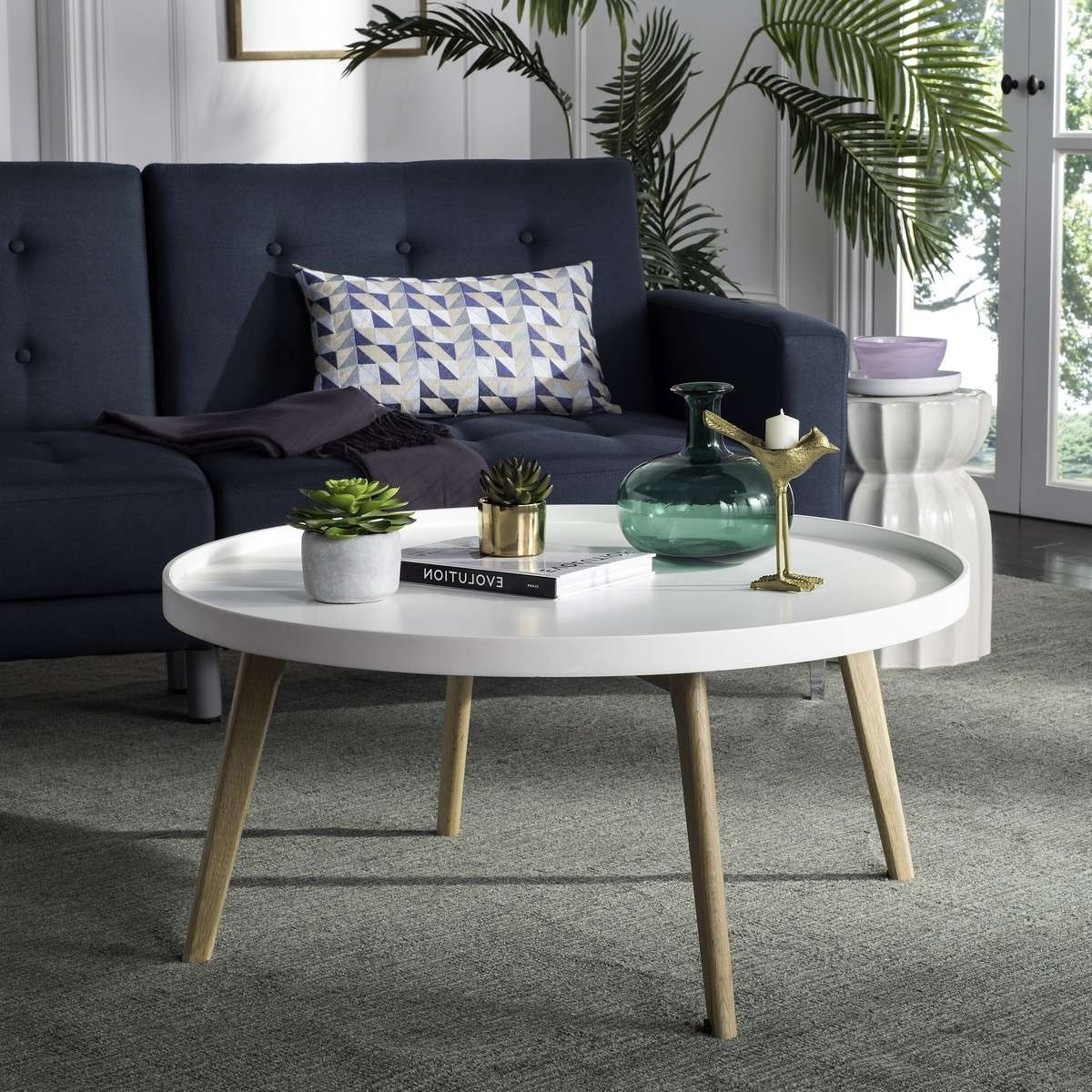2018 Safavieh Coffee Tables For Fox8207A Coffee Tables – Furnituresafavieh (View 1 of 20)