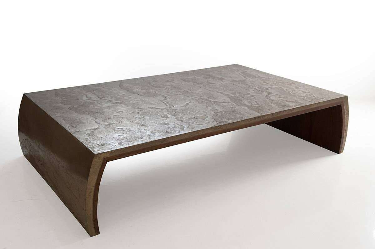 2018 Solid Wood Coffee Tables With Contemporary Coffee Table / Solid Wood / Rectangular – Tsar – Ounovis (View 4 of 20)