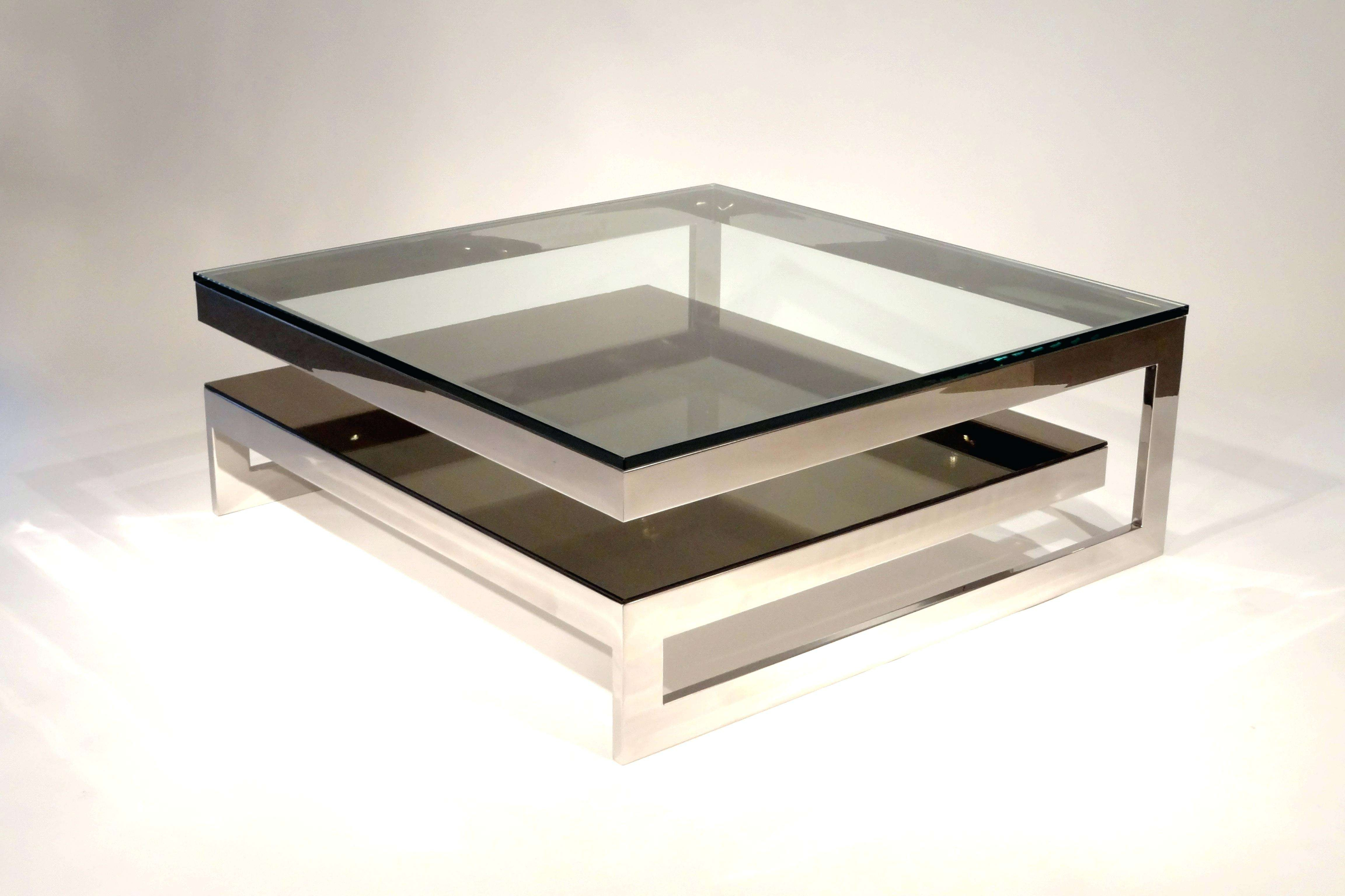 2018 Square Coffee Tables Inside Coffee Table : Living Room End Table Sets Black Square Coffee (View 1 of 20)