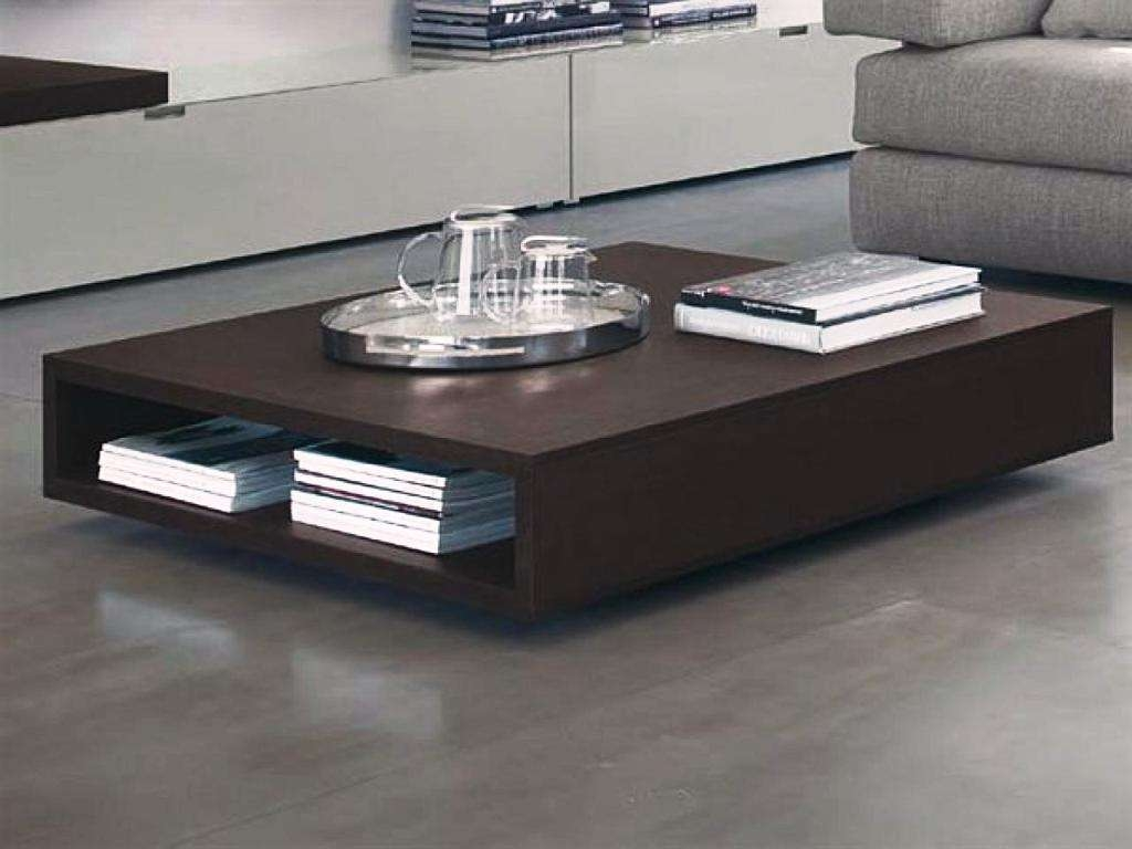 2018 Wood Modern Coffee Tables With Solid Wood Modern Coffee Table : The Holland – Modern Coffee Table (View 1 of 20)