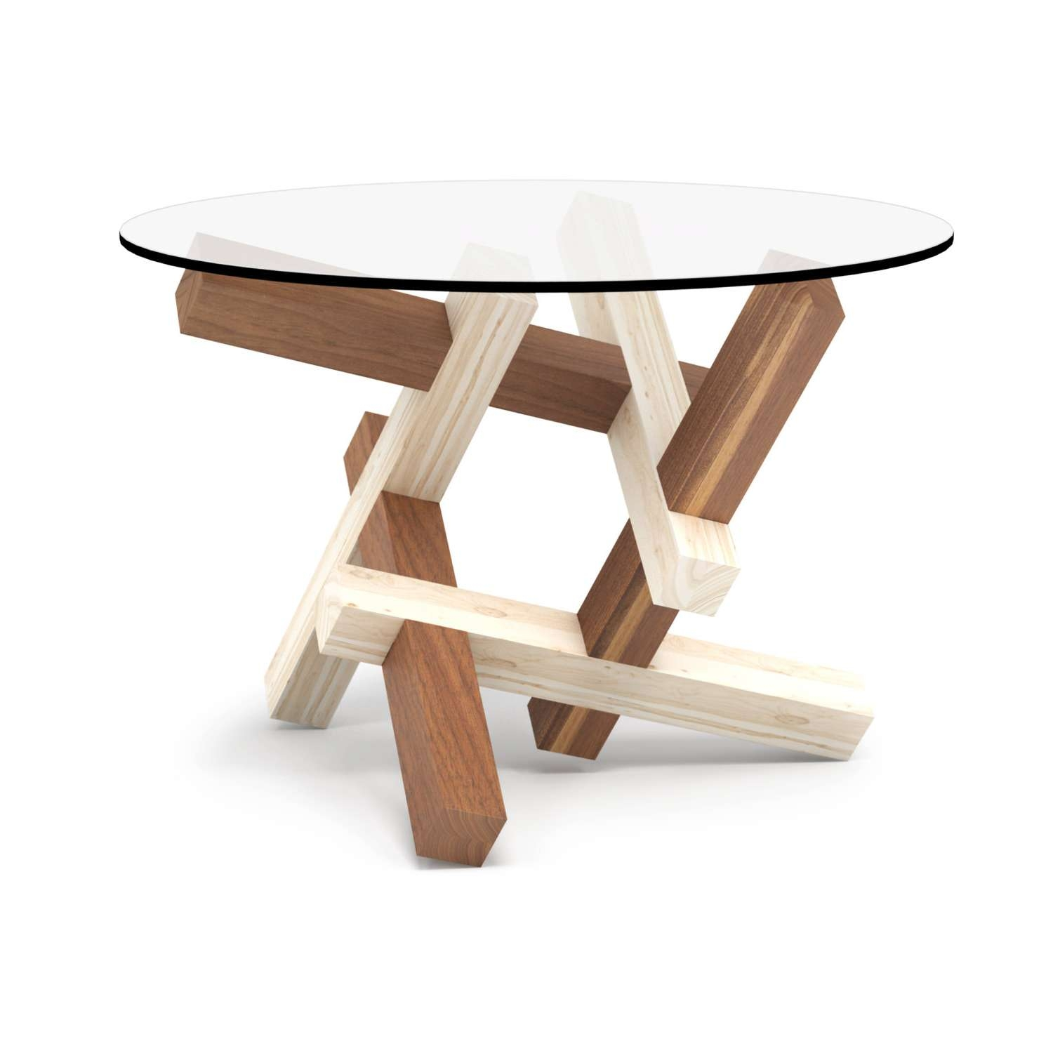 2X3 Round Wooden Coffee Table Puzzle Round Glass Table Within Well Known Puzzle Coffee Tables (View 4 of 20)