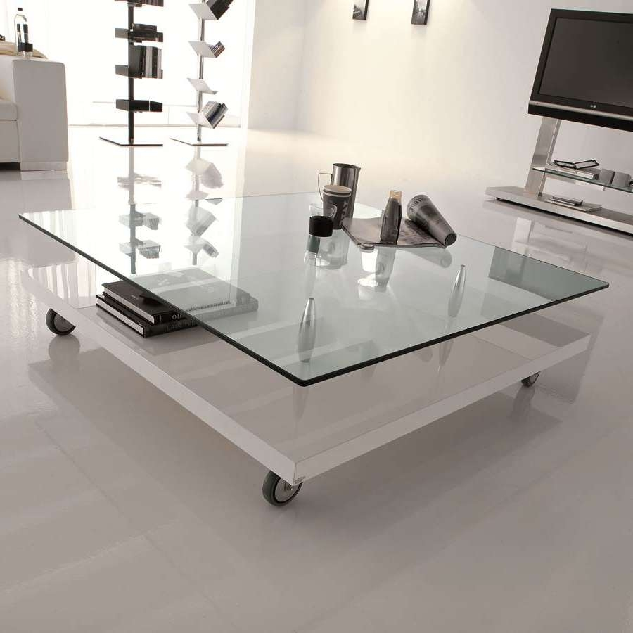 3 Reasons To Buy An Occasional Table With Casters With Regard To Famous Glass Coffee Tables With Casters (Gallery 4 of 20)