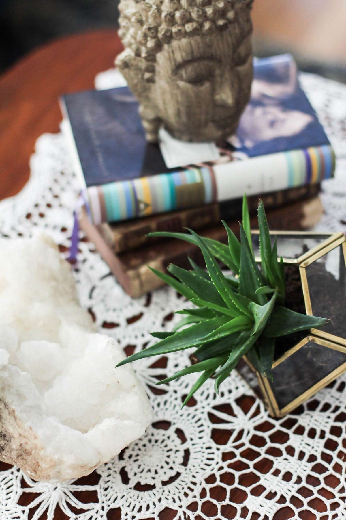3 Ways To Style A Coffee Table – Aol Lifestyle In Latest Boho Coffee Tables (View 4 of 20)