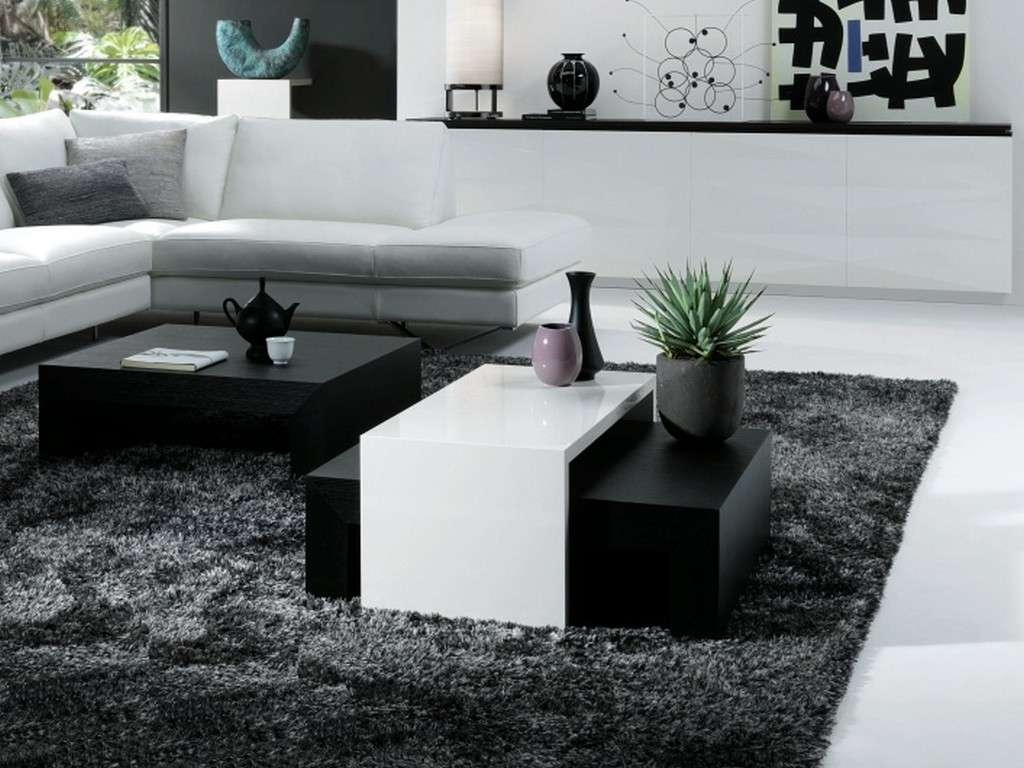 30 Stylish Black Coffee Tables Trend Furniture 2017 For Throughout Preferred White And Black Coffee Tables (View 6 of 20)