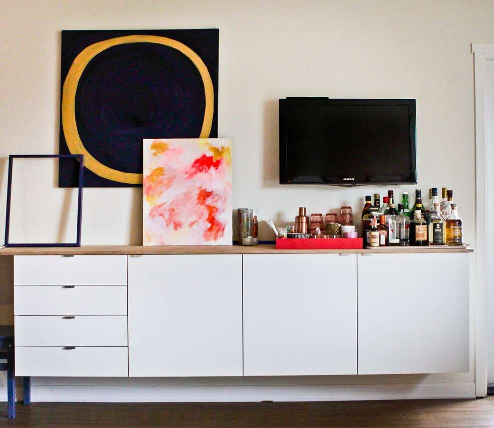 45 Ways To Use Ikea Besta Units In Home Décor – Digsdigs For Ikea Besta Sideboards (Gallery 15 of 20)
