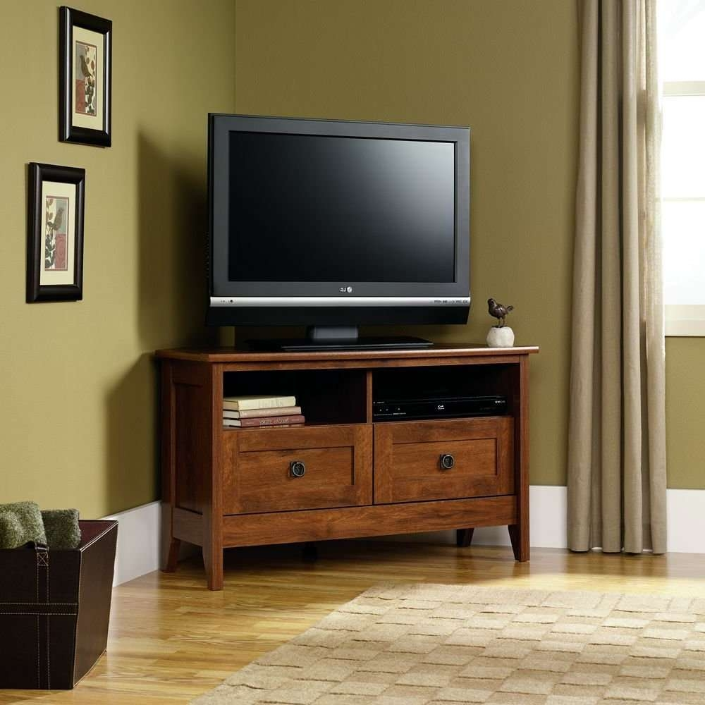 48 Outstanding Small Tv Stand Wood Photos Concept Small Tv Stand With Low Corner Tv Cabinets (View 1 of 20)