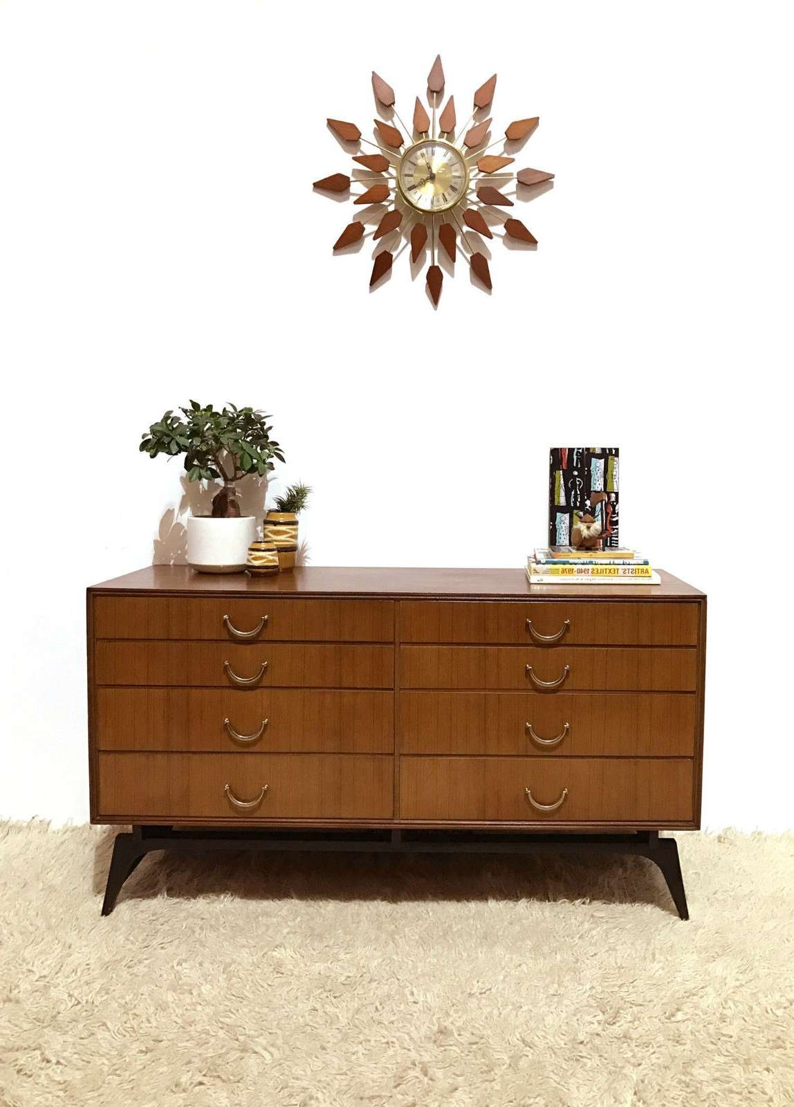 50s 60s Outstanding Mid Century Retro Vintage Sideboard Chest In 50s Sideboards (View 12 of 20)