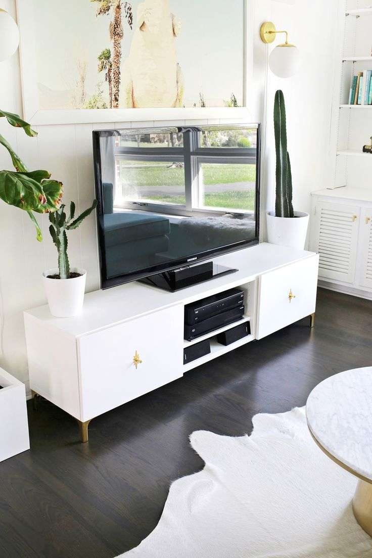 51 Staggering White Tv Stand With Mount Images Design White Tv Inside Long White Tv Cabinets (View 2 of 20)
