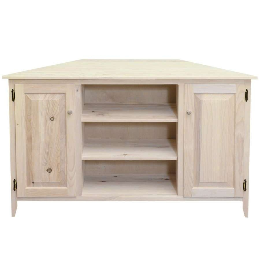 55 Inch] Corner Plasma Tv Stand – Wood You Furniture Throughout Wood Corner Tv Cabinets (View 1 of 20)