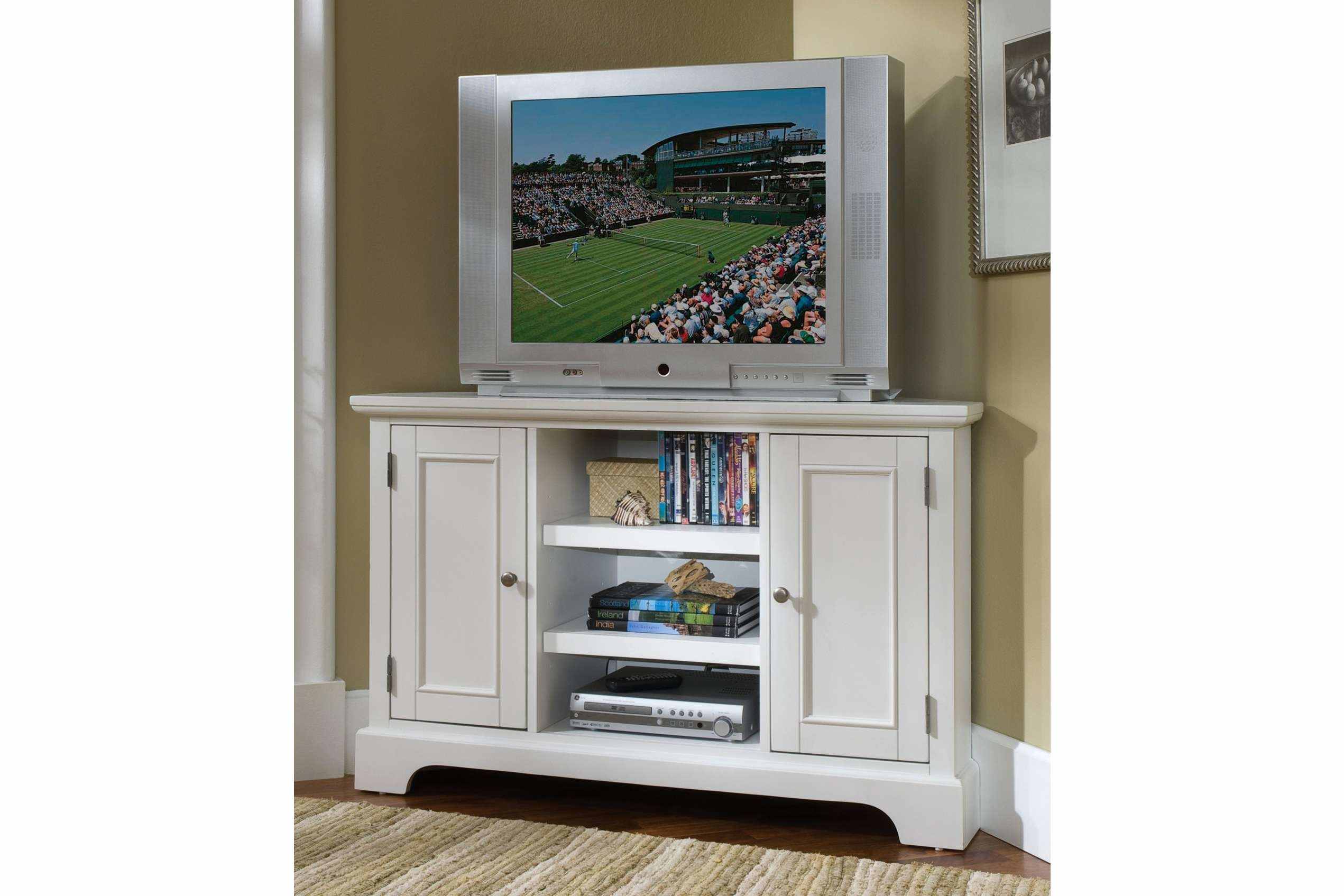 55 Inspirational Corner Tv Stands For Flat Screen Tvs – Home Within Corner Tv Cabinets For Flat Screens (View 1 of 20)
