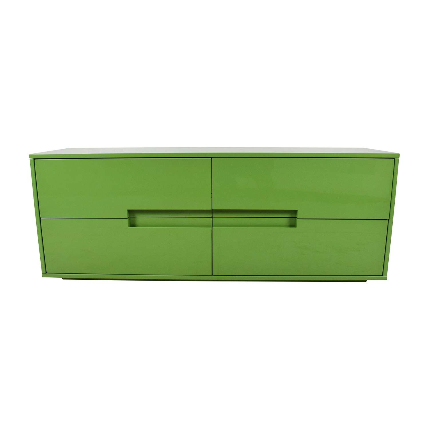 57% Off – Cb2 Cb2 Latitude Low Dresser 4 Drawer / Storage Inside Low Sideboards (View 2 of 20)
