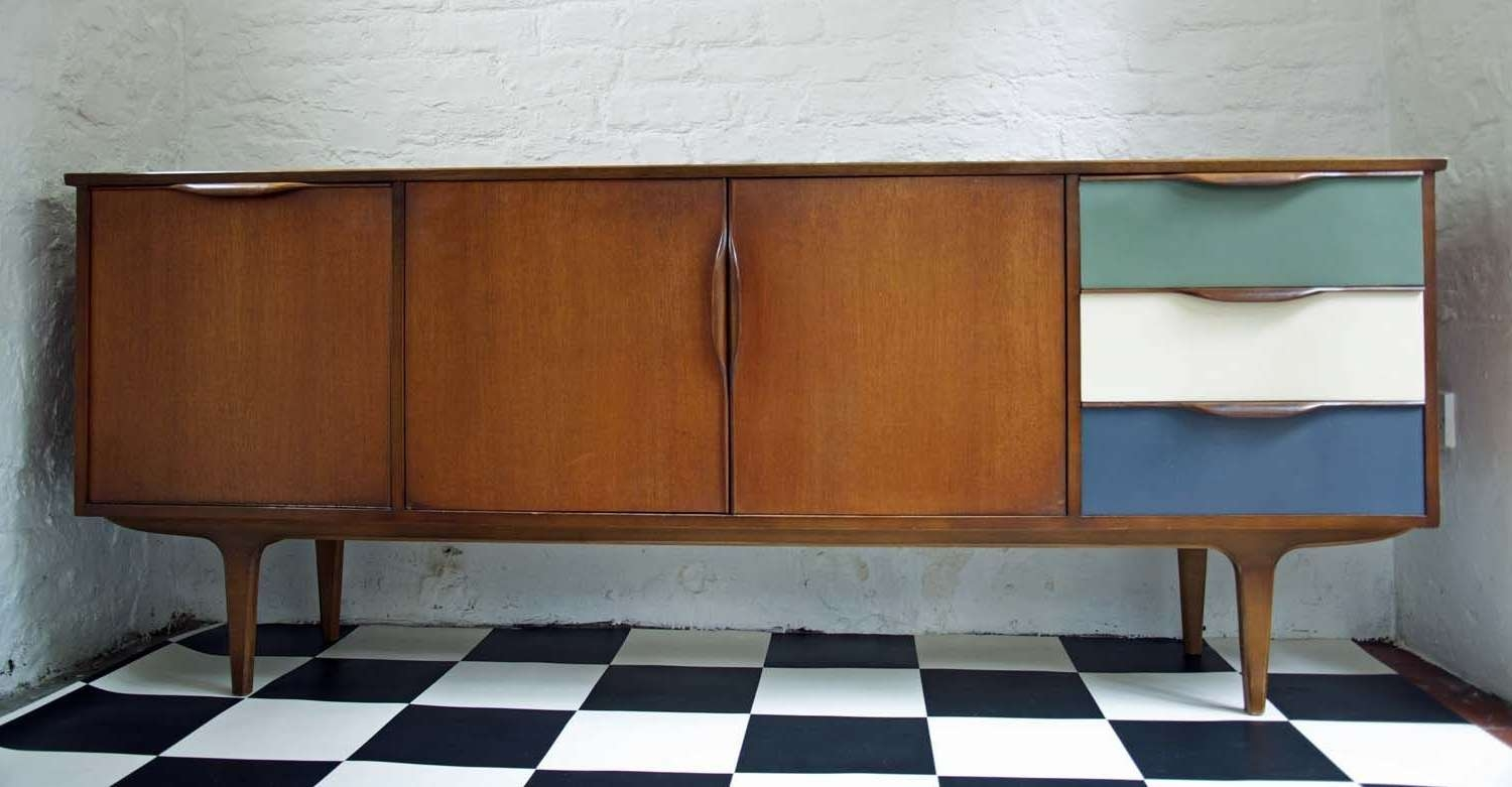 60's Upcycled G Plan Sideboard – Bring It On Home For Quirky Sideboards (Gallery 5 of 20)
