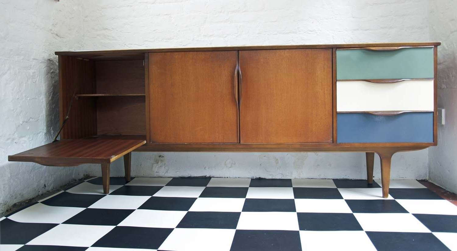 60's Upcycled G Plan Sideboard – Bring It On Home In Quirky Sideboards (View 2 of 20)