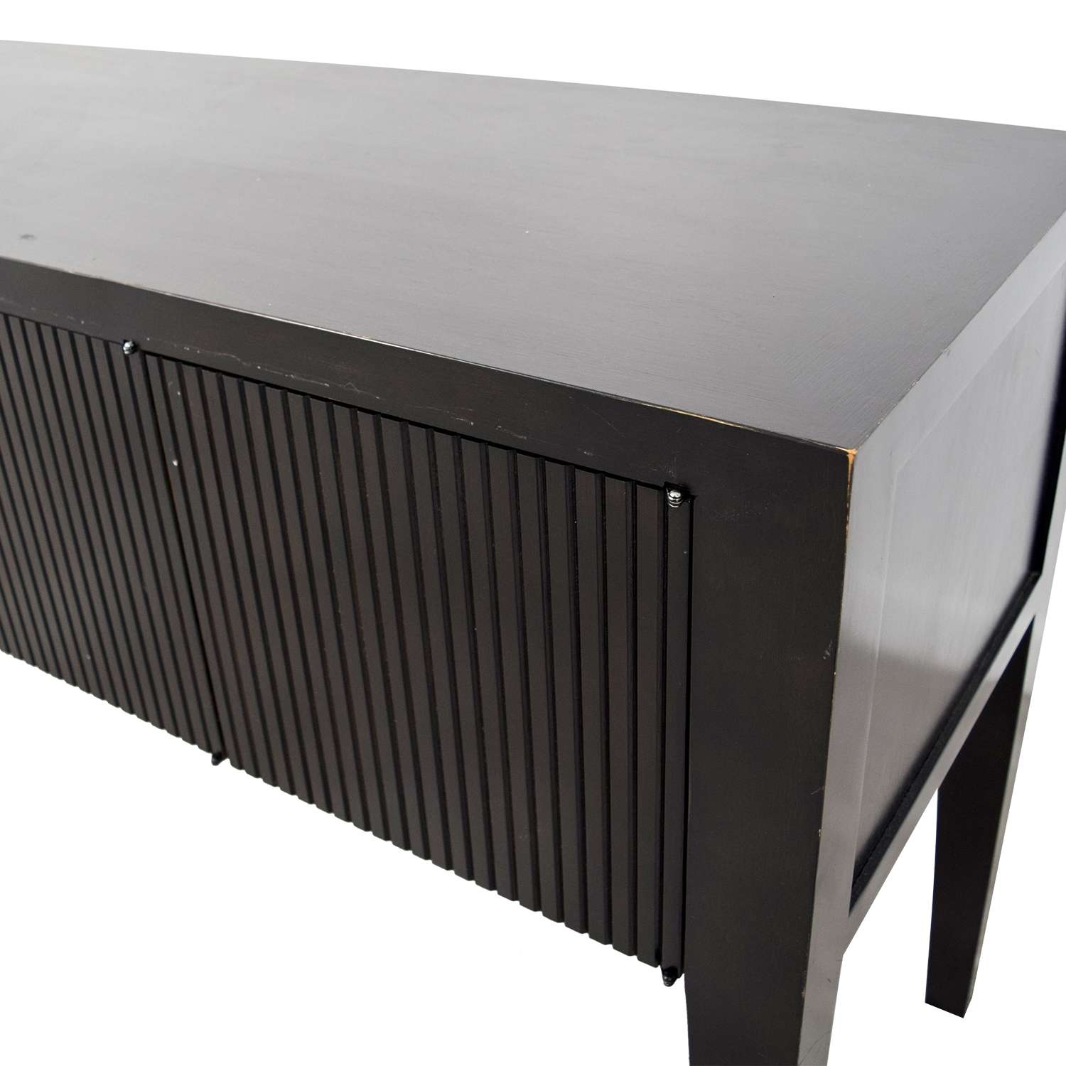 76% Off – Crate And Barrel Crate And Barrel Wood Sideboard / Storage In Crate And Barrel Sideboards (View 20 of 20)