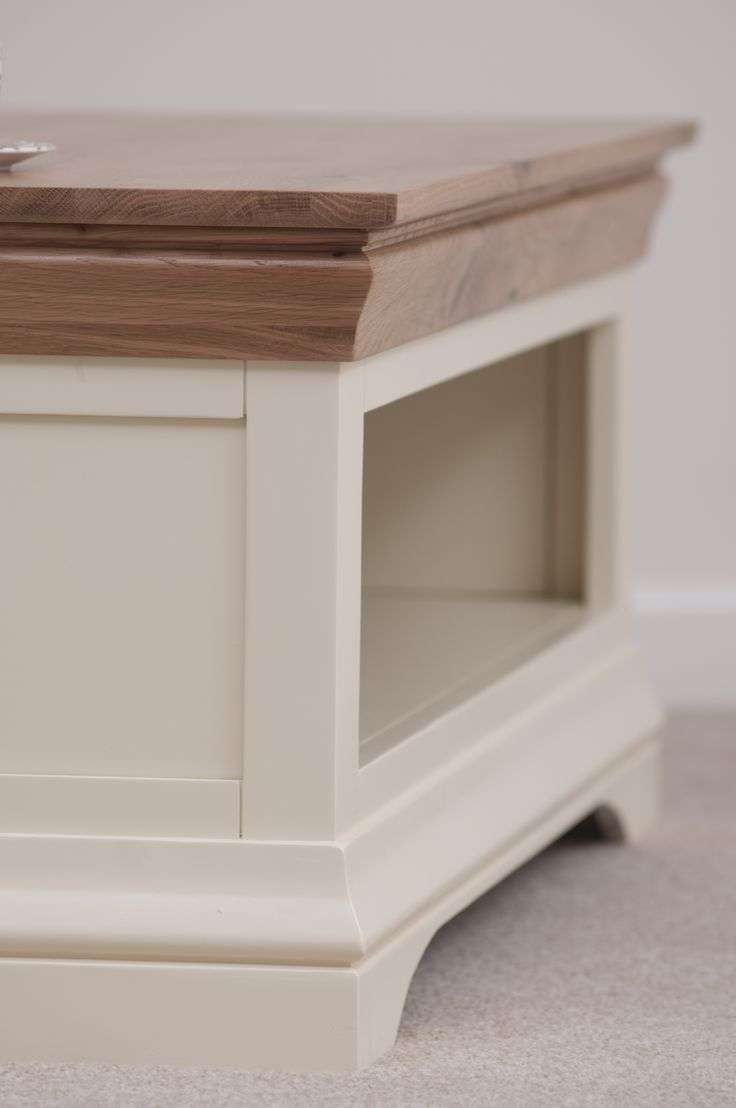 77 Best Painted Furniture Home Decor Inspiration Images On Pinterest Inside 2018 Oak And Cream Coffee Tables (View 3 of 20)