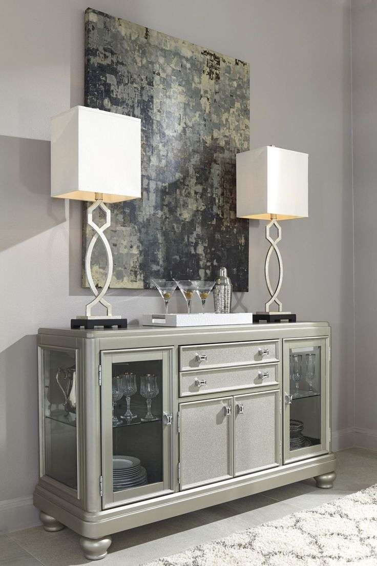 86 Best Silver & Platinum Furniture Ideas Images On Pinterest Within Silver Sideboards (View 2 of 20)