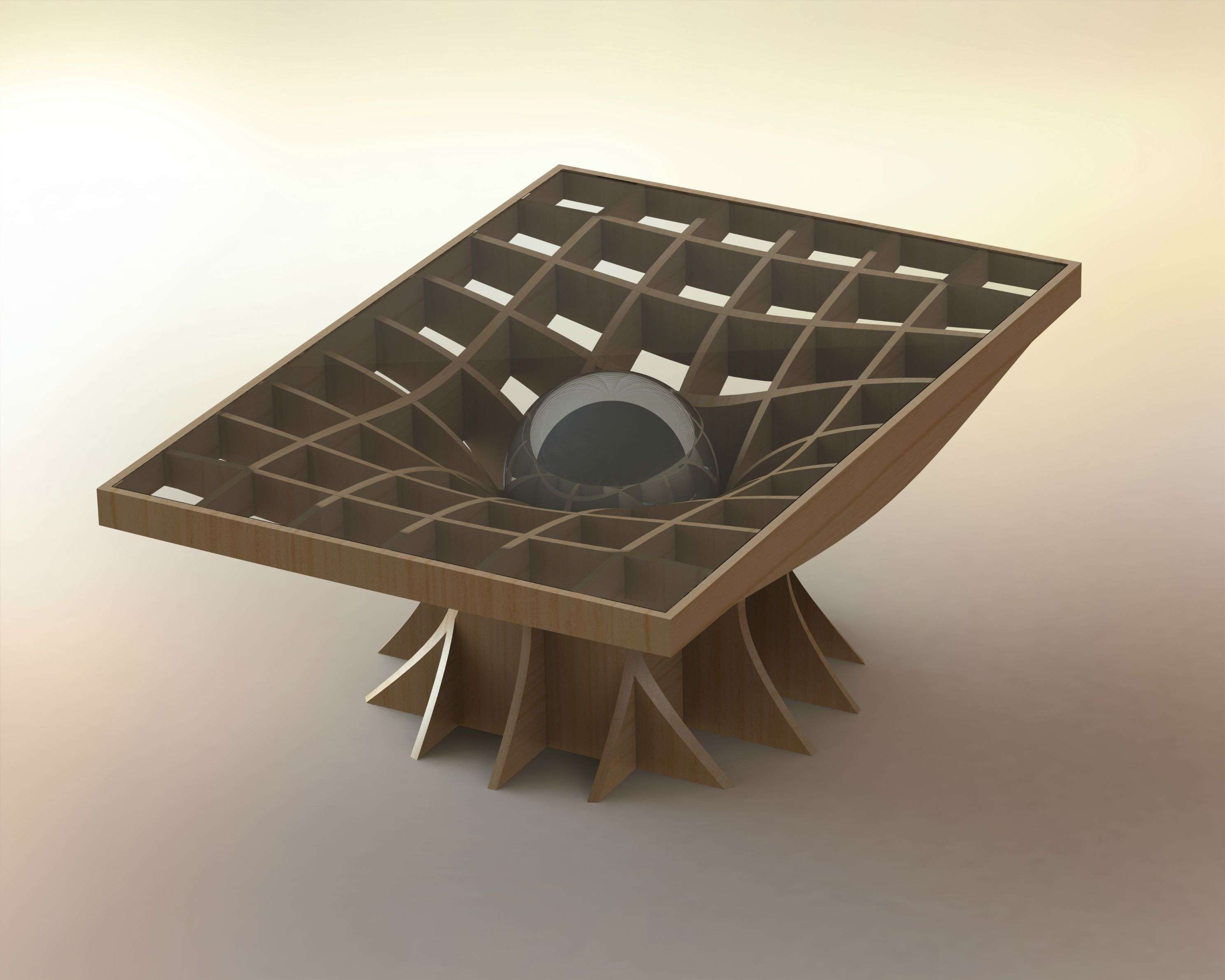 A Physics Inspired Coffee Table Pertaining To Most Recently Released Space Coffee Tables (View 9 of 20)