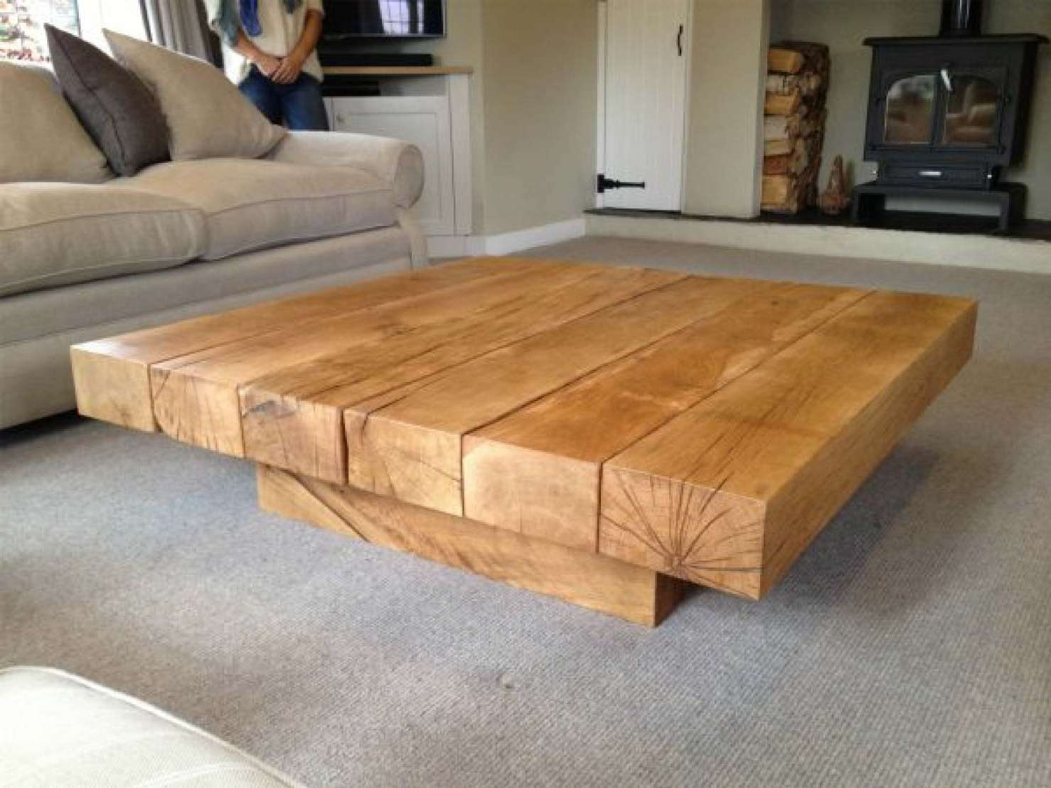 Abacus Tables In Most Recently Released Square Oak Coffee Tables (Gallery 1 of 20)