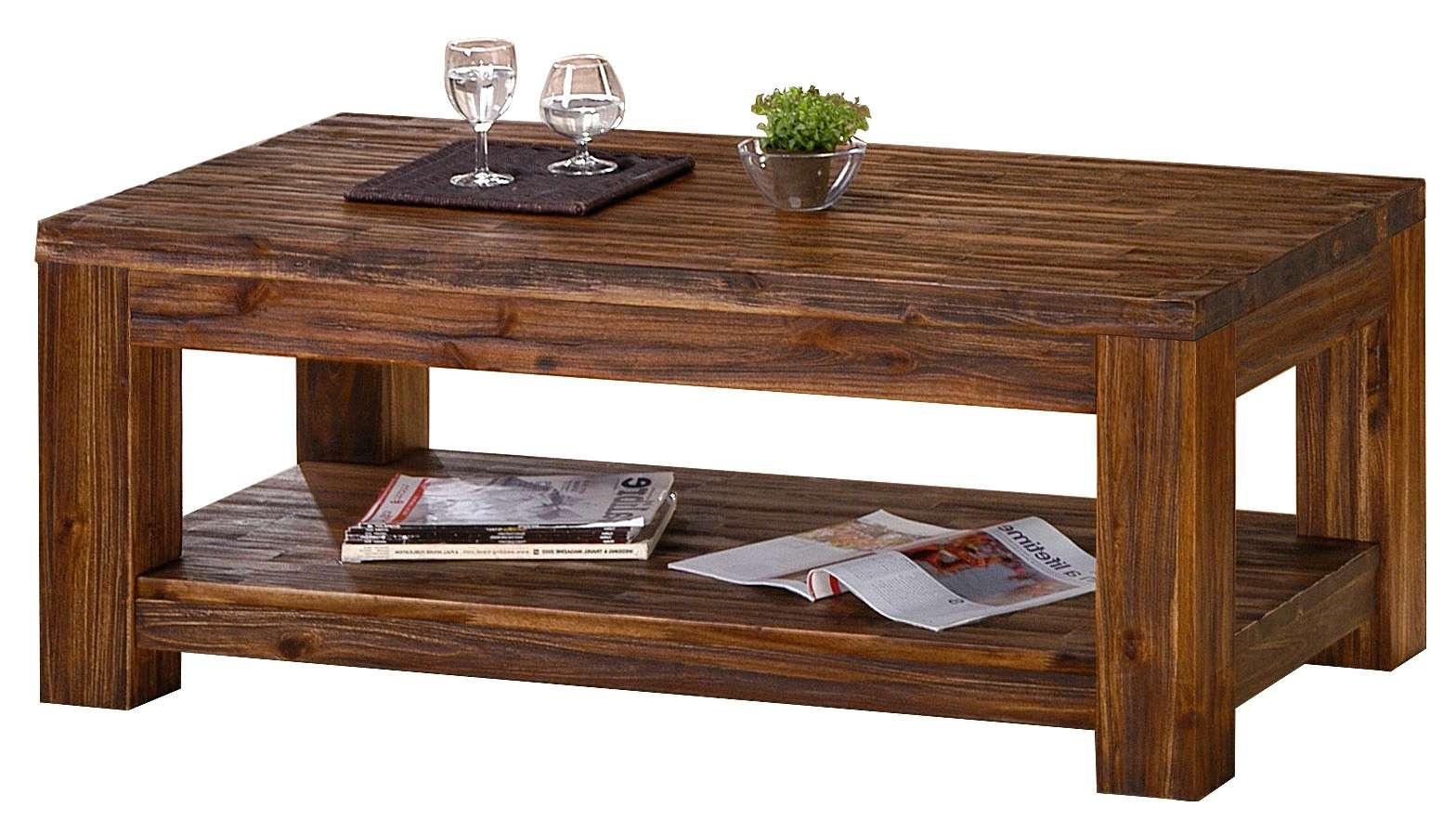 Acacia Wood Coffee Table – Mfp Furniture In Recent Dark Brown Coffee Tables (View 18 of 20)