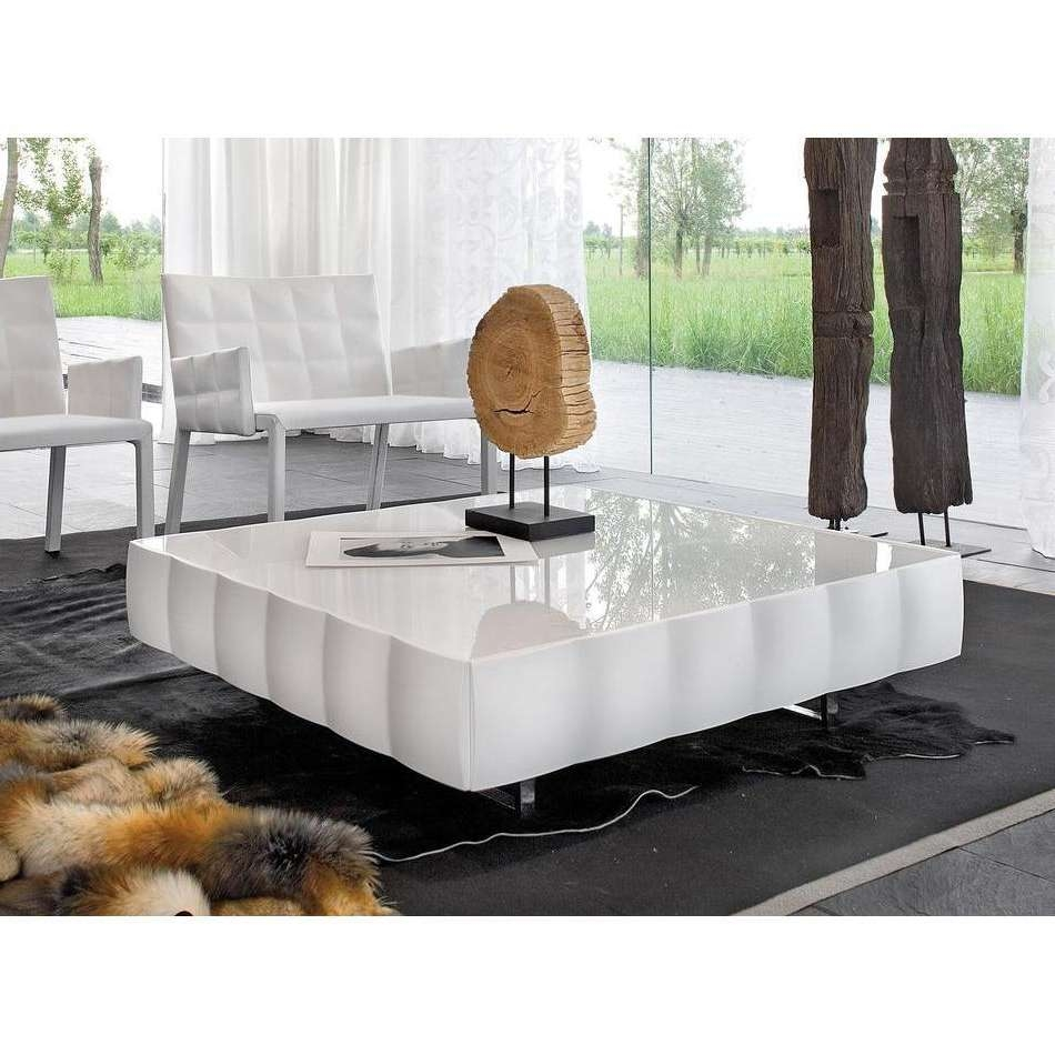 Acrylic Coffee Table With Regard To Fashionable Square White Coffee Tables (View 2 of 20)