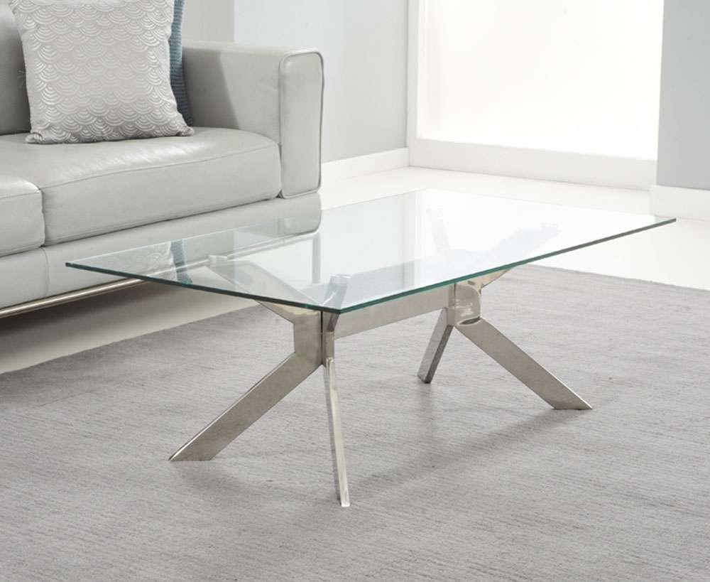 All Contemporary Design With Most Up To Date Steel And Glass Coffee Tables (View 1 of 20)