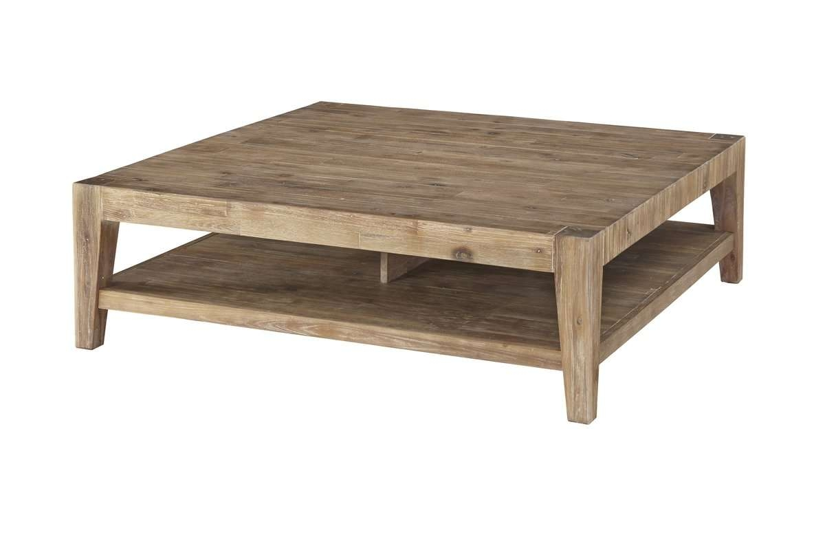Allmodern Regarding Latest Square Wooden Coffee Table (View 2 of 20)
