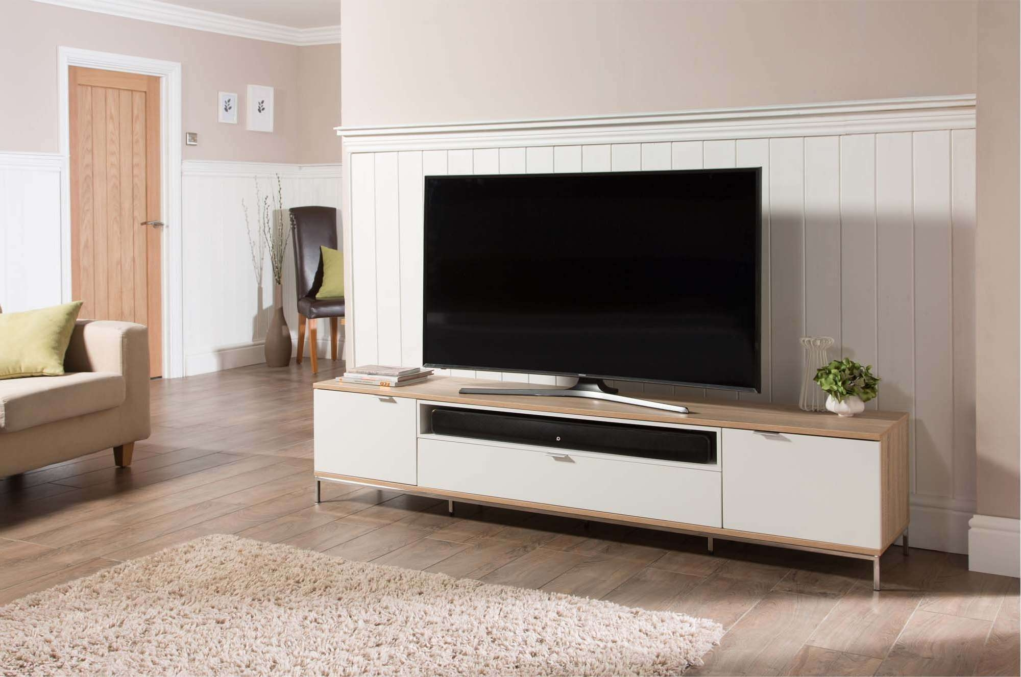 Alphason Adch2000 Wht Tv Stands Pertaining To Alphason Tv Cabinets (View 1 of 20)